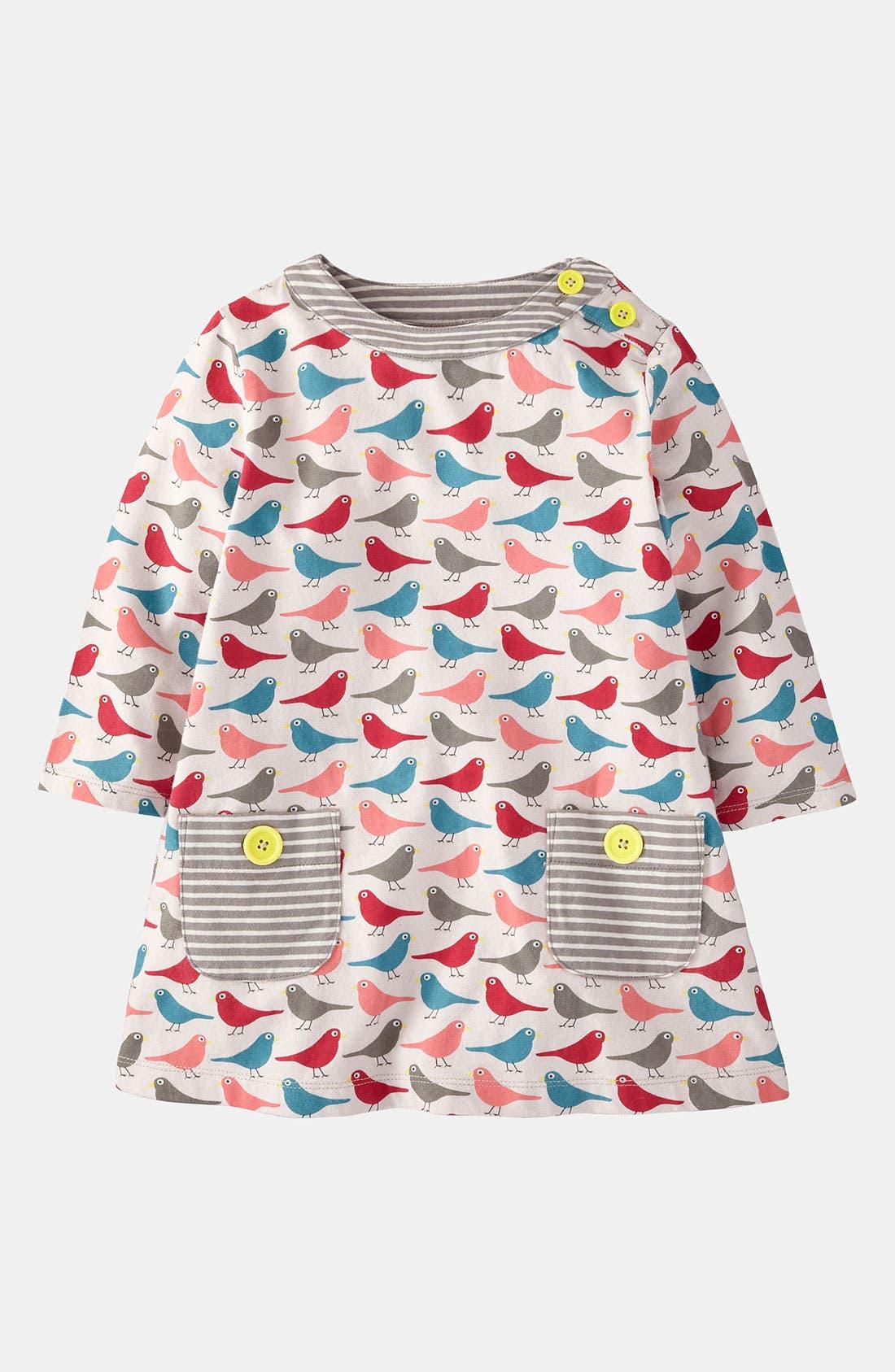 Alternate Image 1 Selected - Mini Boden Print Tunic (Little Girls & Big Girls)