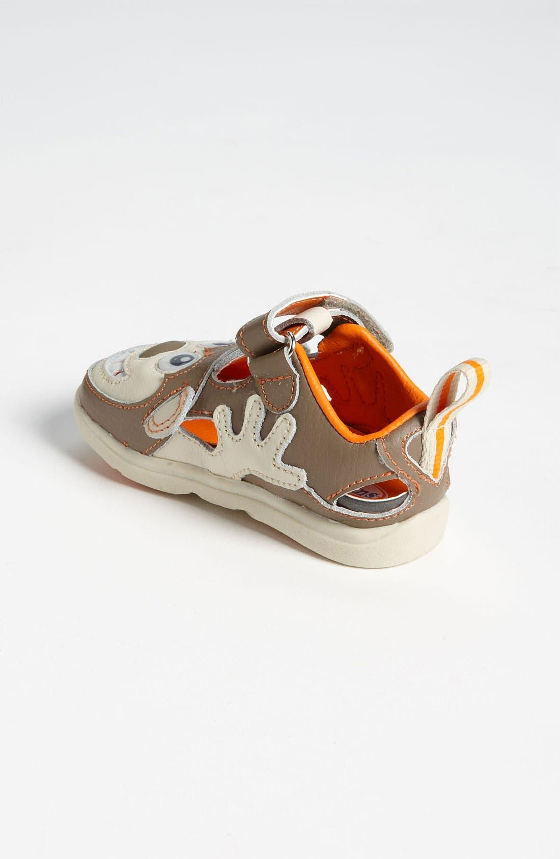 Alternate Image 2  - Zooligans™ 'Monkey' Sport Sandal (Baby, Walker & Toddler)
