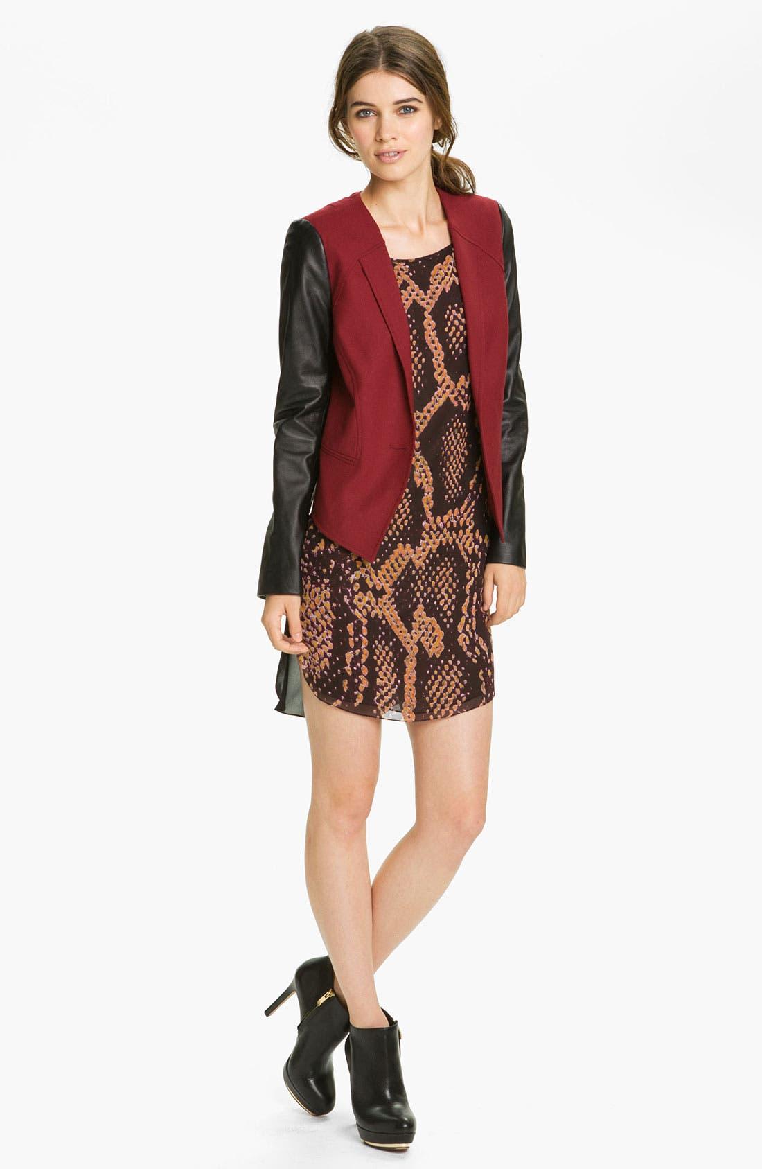 Alternate Image 4  - Rebecca Minkoff 'Wednesday' Snake Print Dress