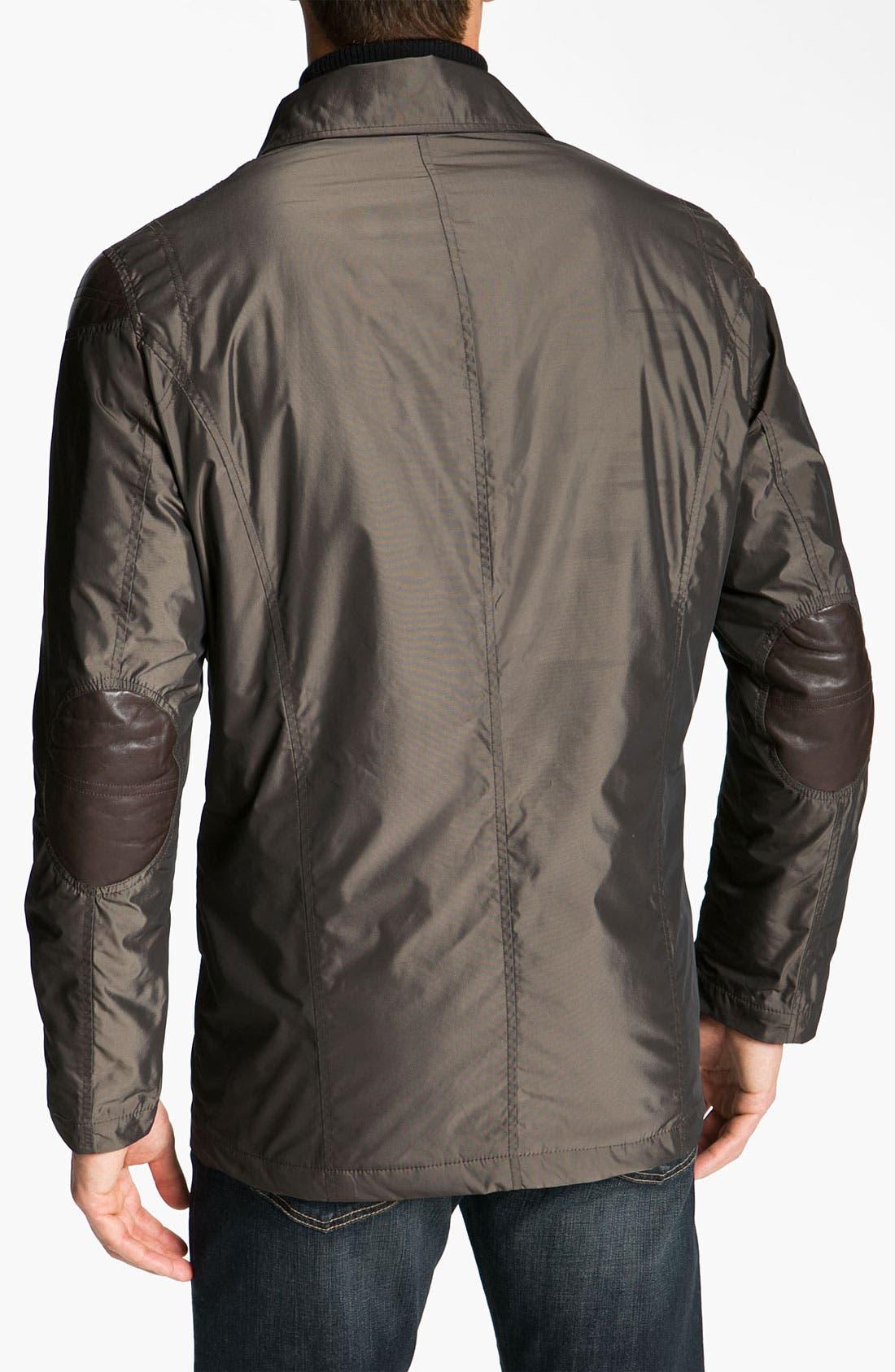 Alternate Image 2  - Robert Comstock Water Resistant Raincoat