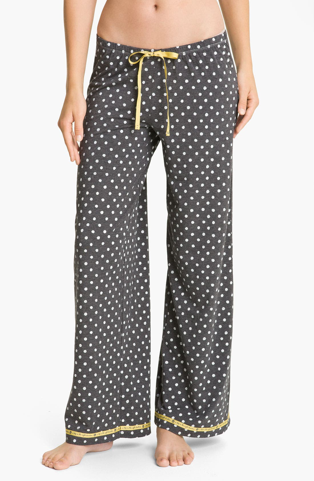 Alternate Image 1 Selected - Hue 'Watercolor Dot' Pajama Pants