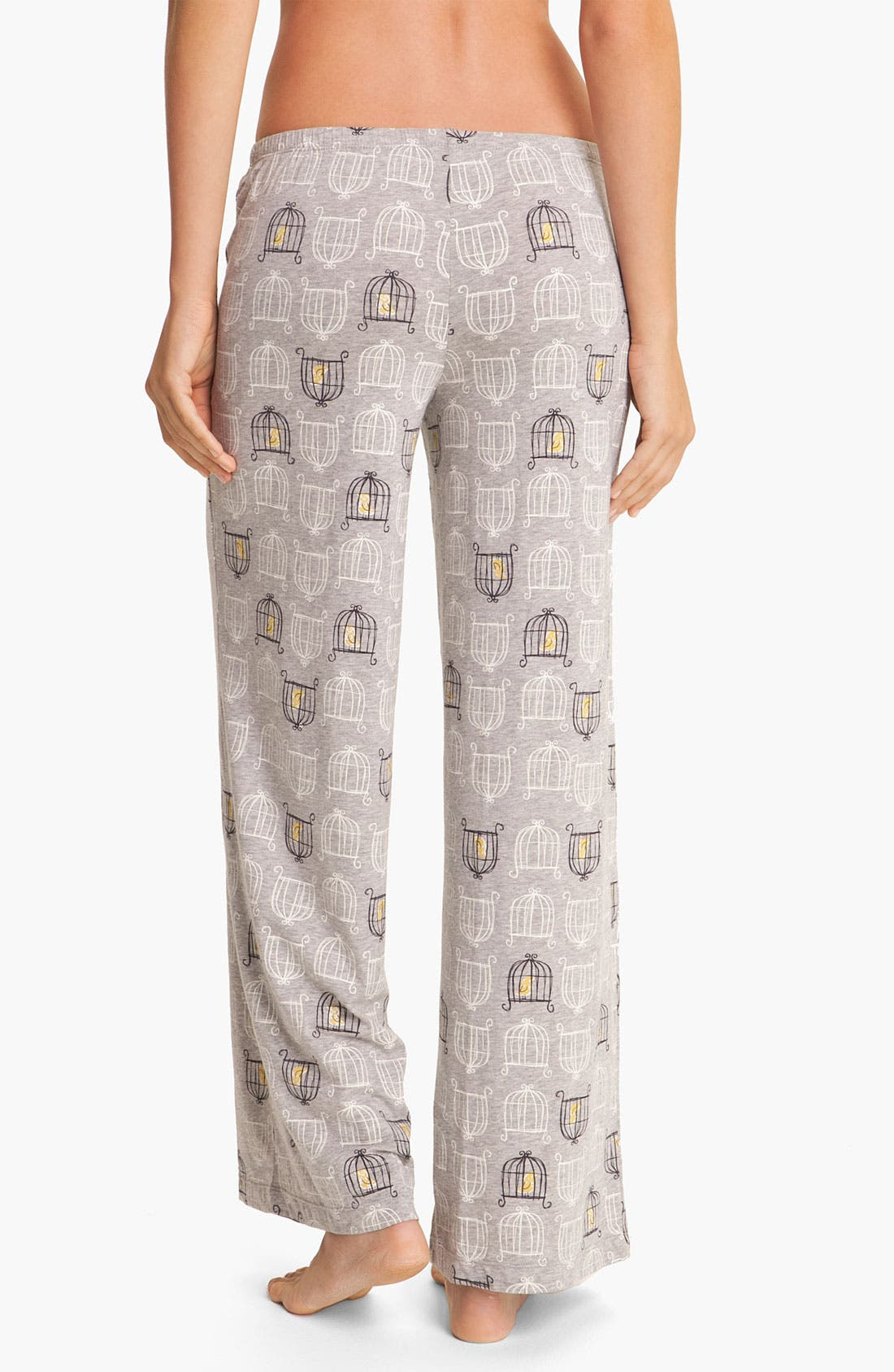 Alternate Image 2  - Hue 'Birdcage' Pajama Pants