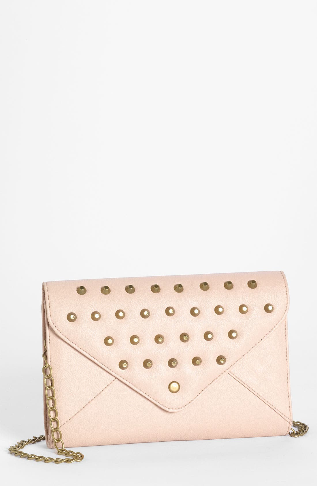 Alternate Image 1 Selected - OMG Studded Crossbody Clutch