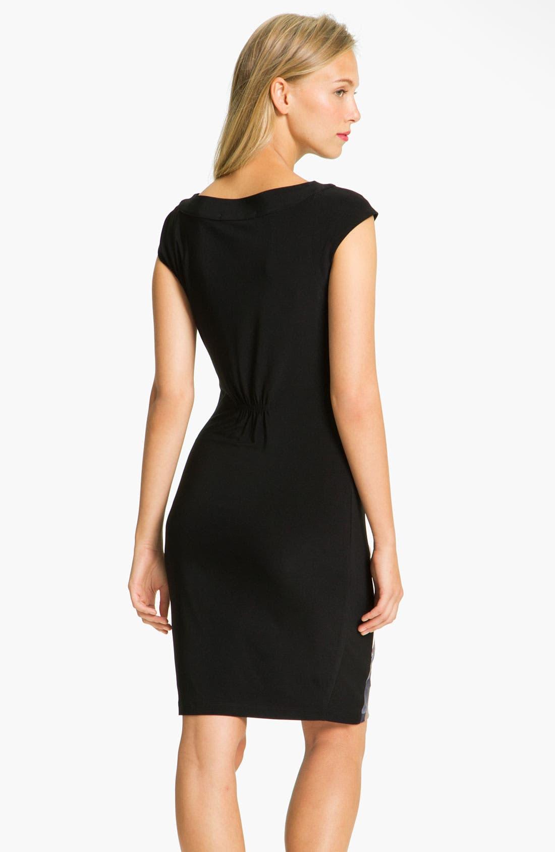 Alternate Image 2  - Alex & Ava Front Print Panel Jersey Dress