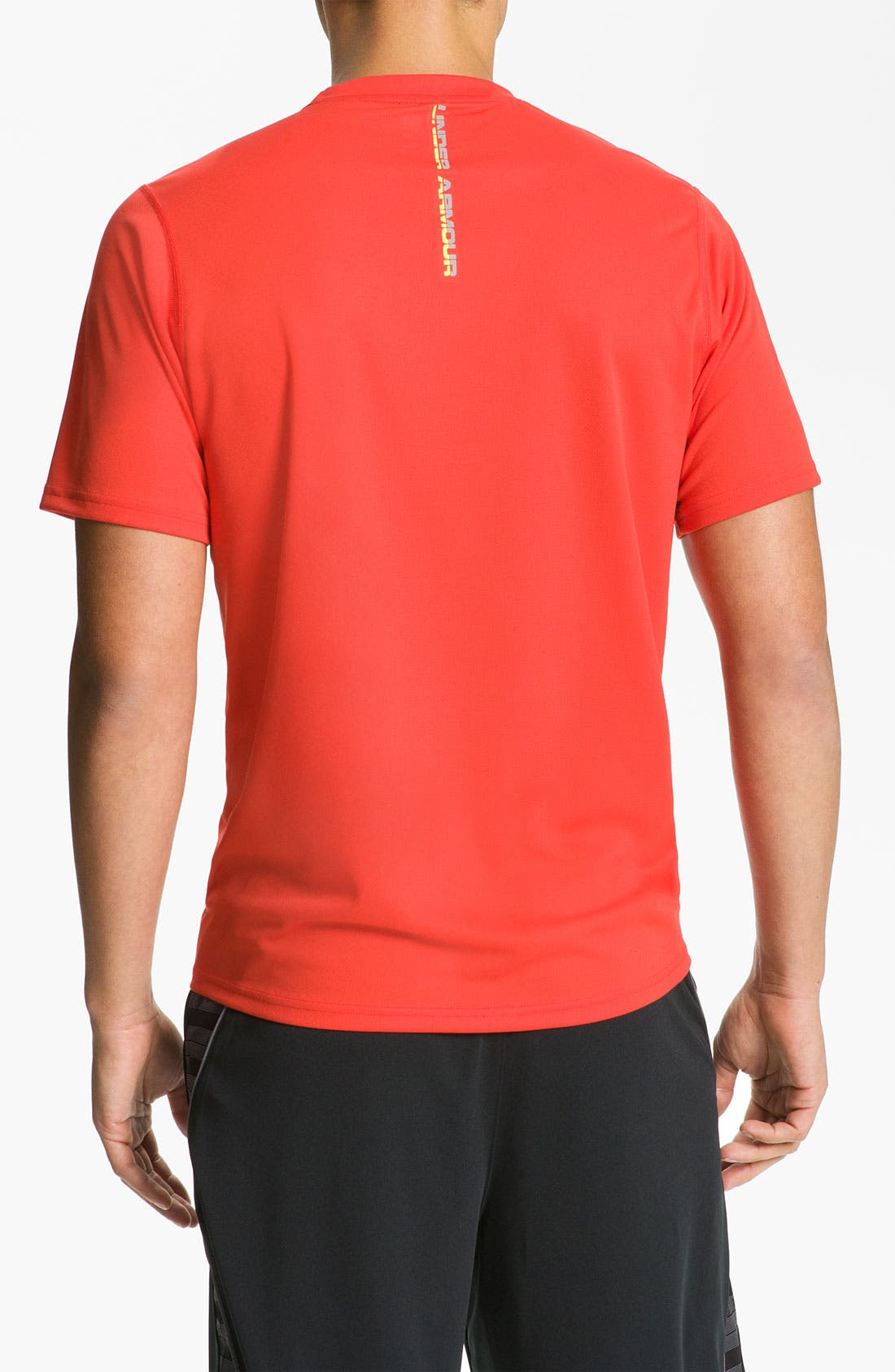 Alternate Image 2  - Under Armour 'Run' HeatGear® Short Sleeve T-Shirt