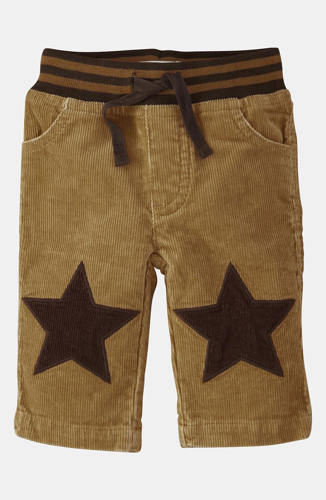 Main Image - Mini Boden 'Knee Patch' Jeans (Infant)