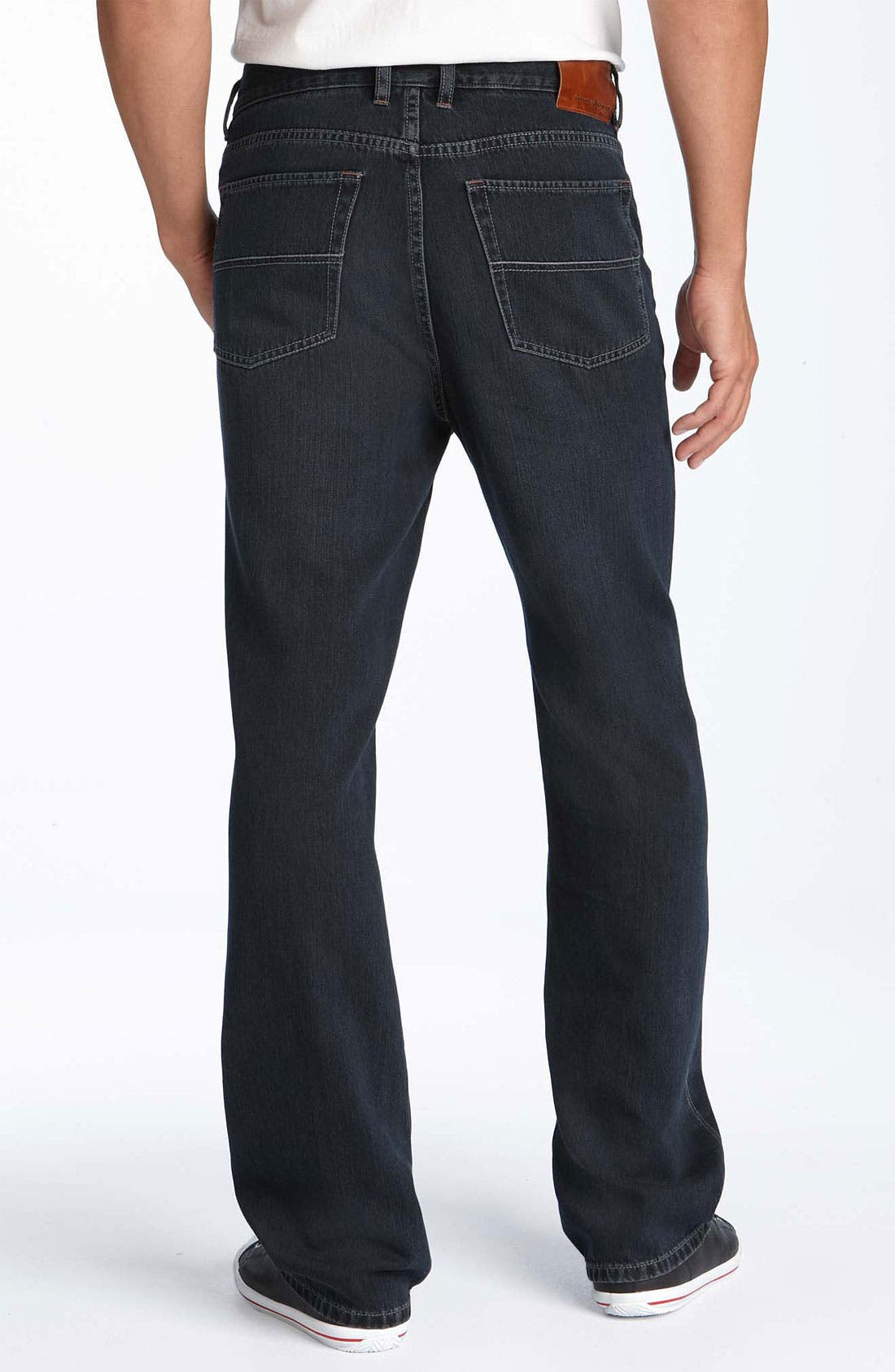 Alternate Image 2  - Tommy Bahama Denim 'Island Ease' Straight Leg Jeans (Black Overdye)