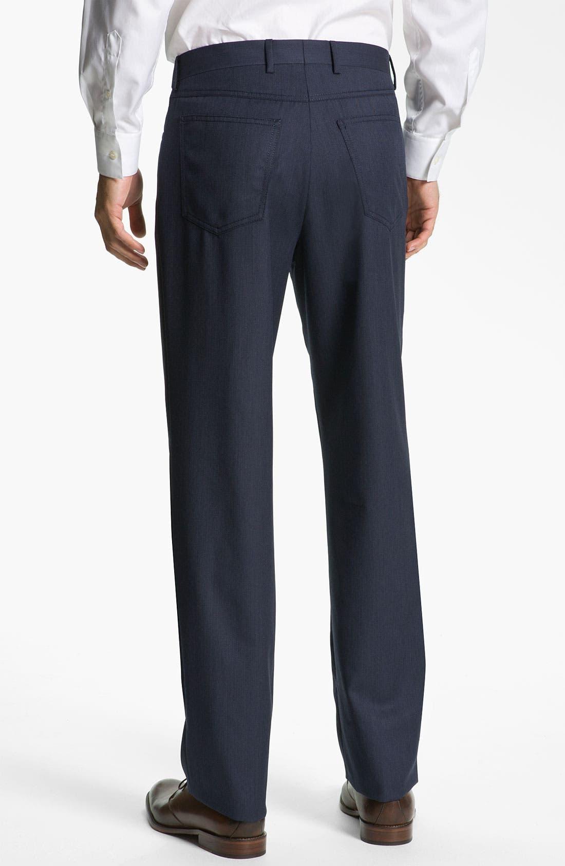 Alternate Image 2  - Zanella 'Dustin' Twill Trousers