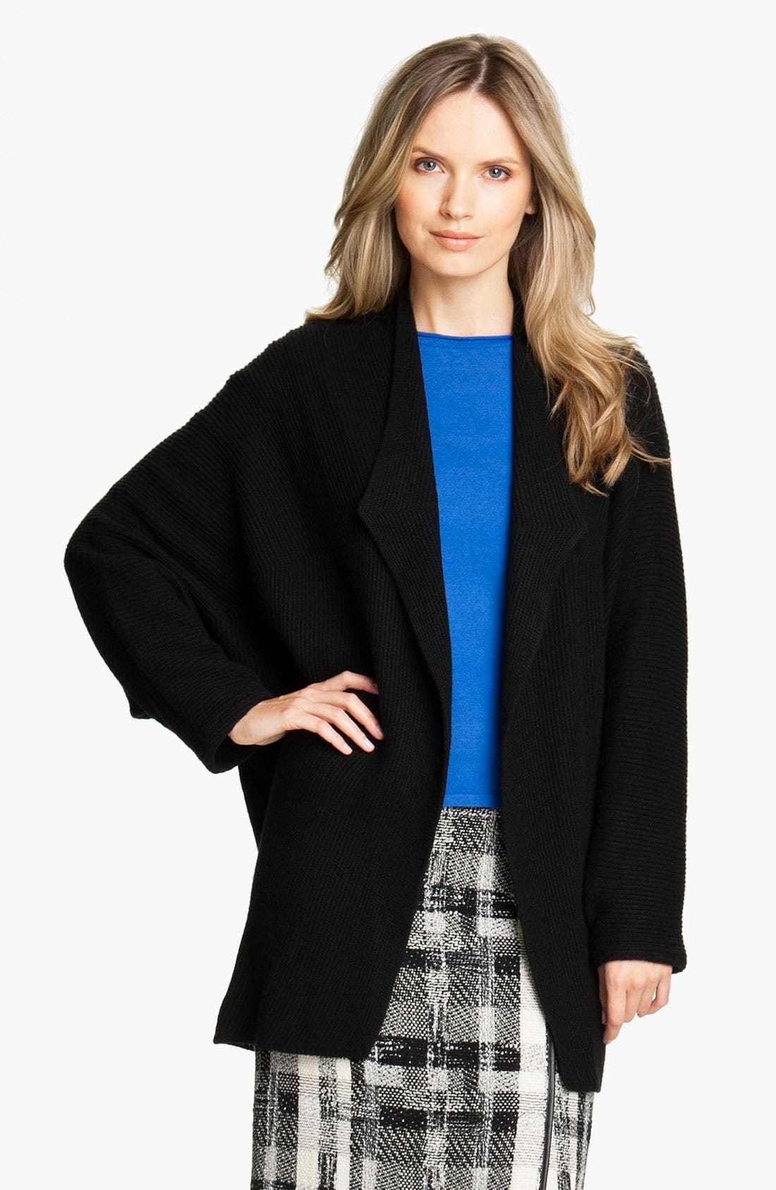 Main Image - Lafayette 148 New York 'Paramour' Wool Shrug