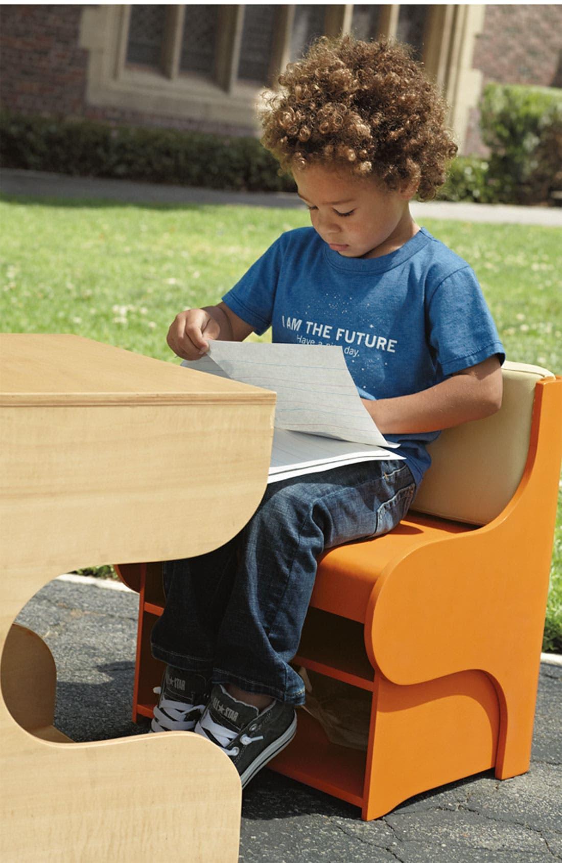 Alternate Image 2  - Chaser Graphic T-Shirt (Toddler)