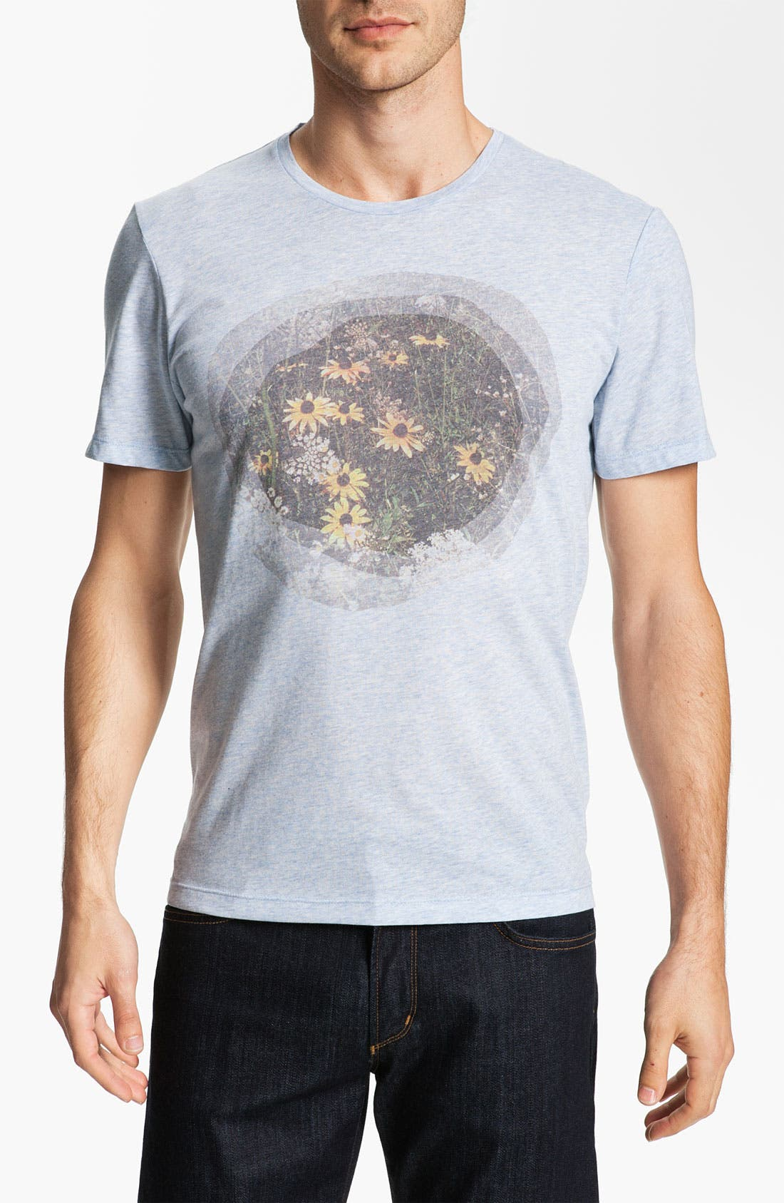 Alternate Image 1 Selected - Ted Baker London 'Threya' Graphic T-Shirt