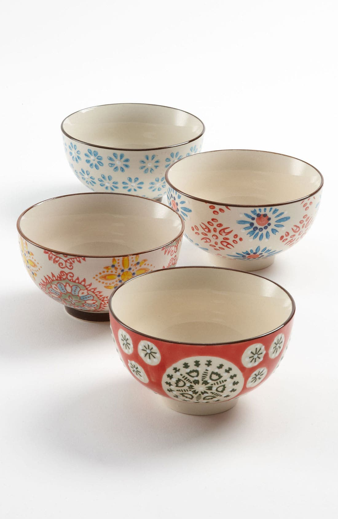 Alternate Image 1 Selected - Chehoma Atelier d'Ambiances 'Bohemian' Bowls (Set of 4)