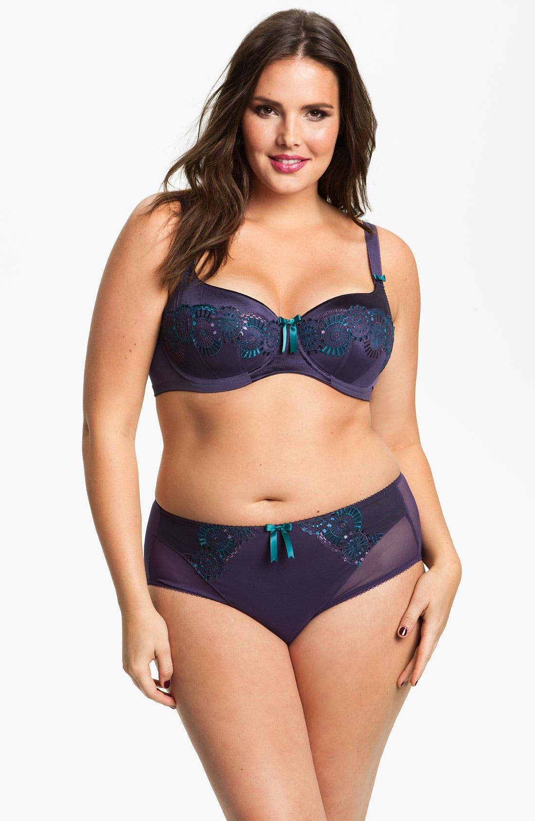 Alternate Image 2  - Elomi 'Paloma' Padded Underwire Bra (Plus Size)