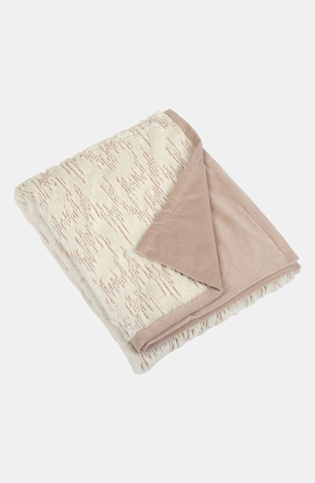 Alternate Image 1 Selected - Blissliving Home 'Chateau' Faux Fur Throw (Online Only)