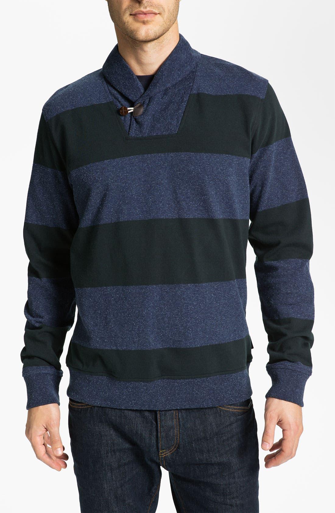 Alternate Image 1 Selected - Ted Baker London 'Nepjack' Shawl Collar Top