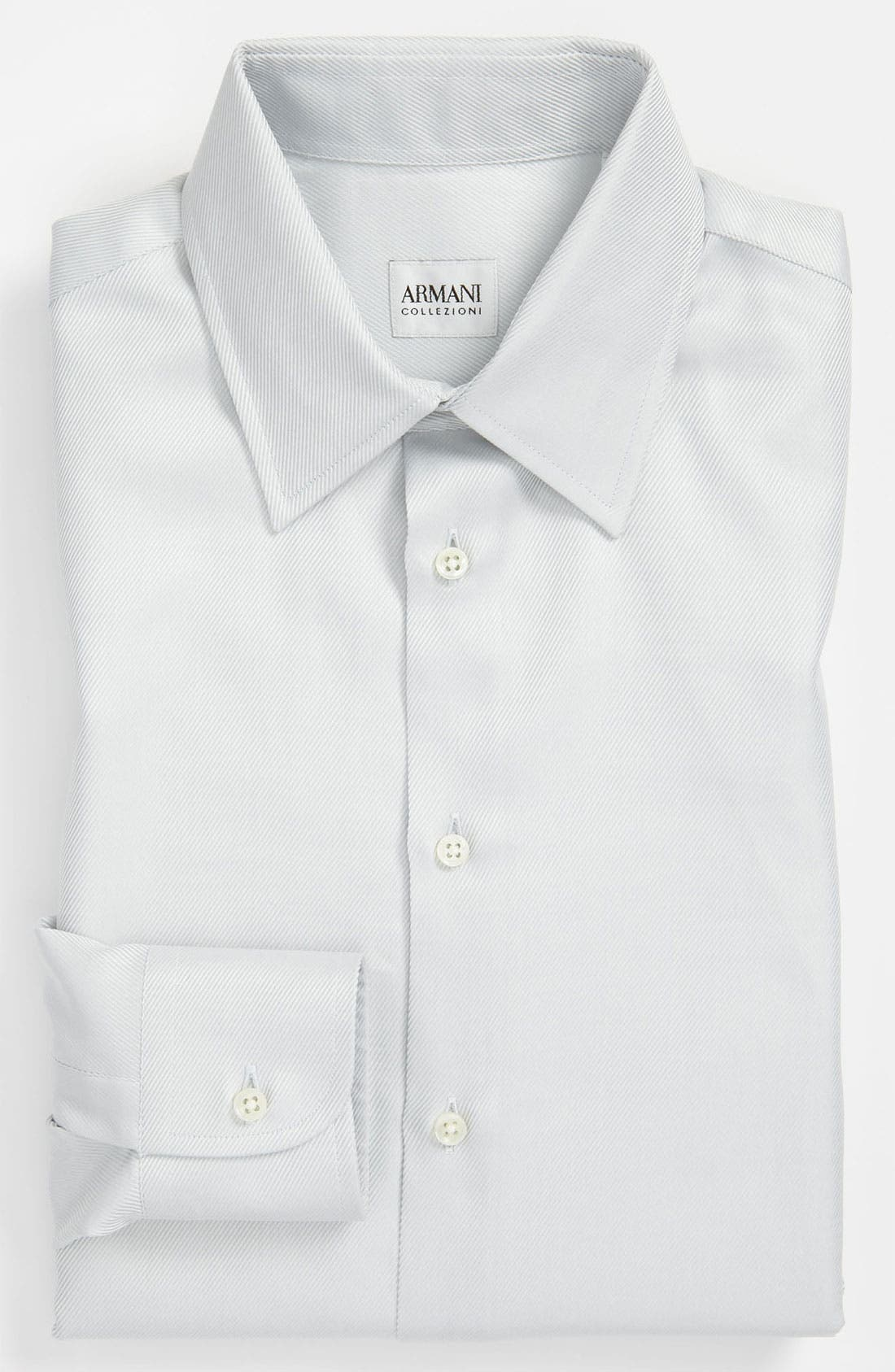 Alternate Image 1 Selected - Armani Collezioni Modern Fit Dress Shirt