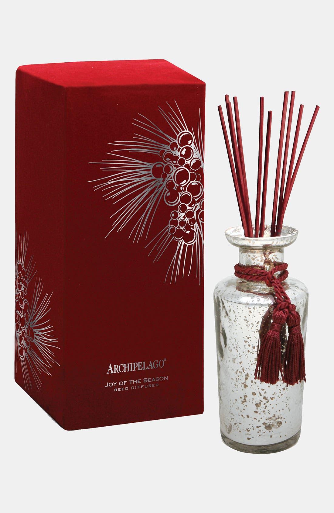 Main Image - Archipelago Botanicals 'Joy of the Season' Mercury Glass Diffuser