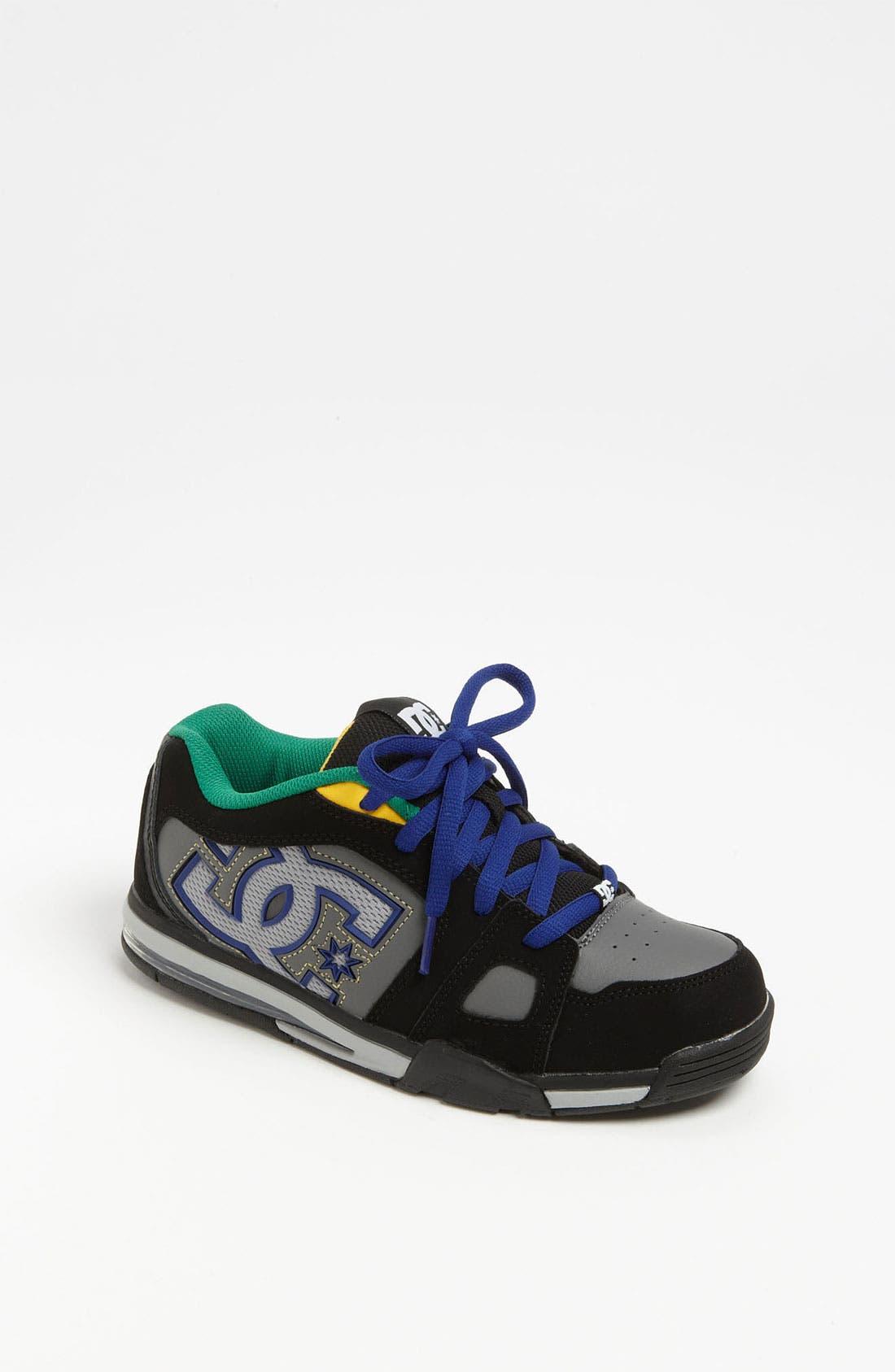 Alternate Image 1 Selected - DC Shoes 'Frenzy' Sneaker (Big Kid)