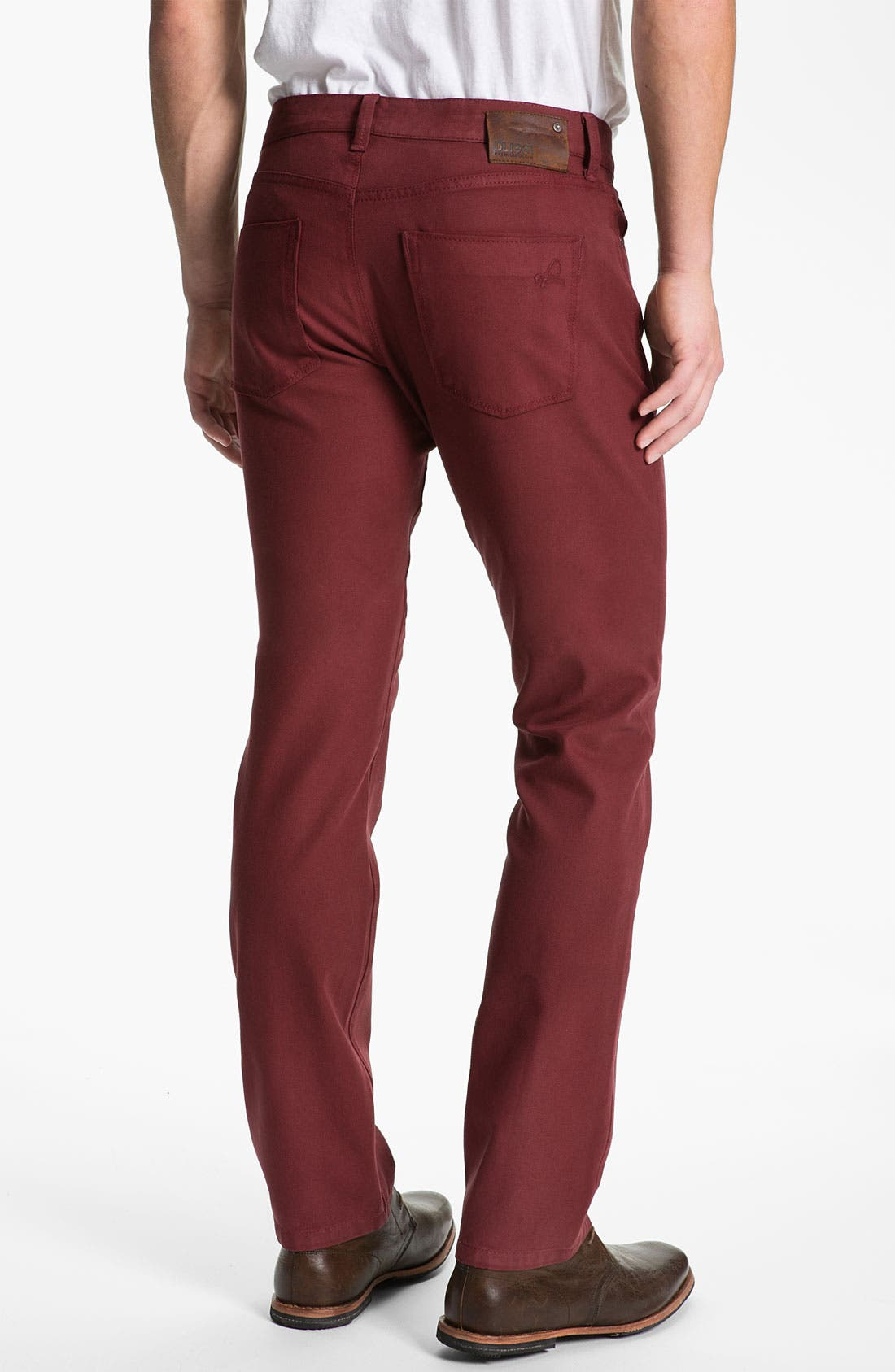 Alternate Image 2  - DL1961 'Russell' Slim Straight Jeans (Firebird)