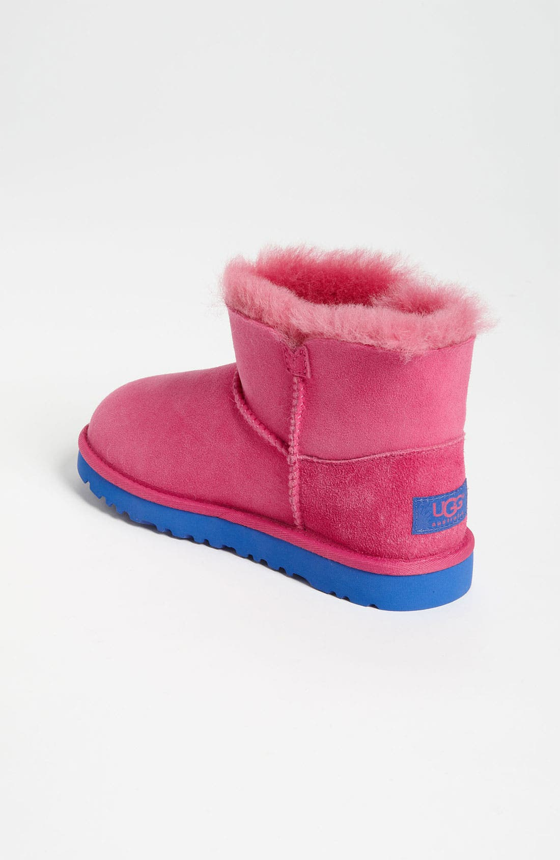 Alternate Image 2  - UGG® Australia 'Mini Bailey' Button Boot (Walker, Toddler, Little Kid & Big Kid)