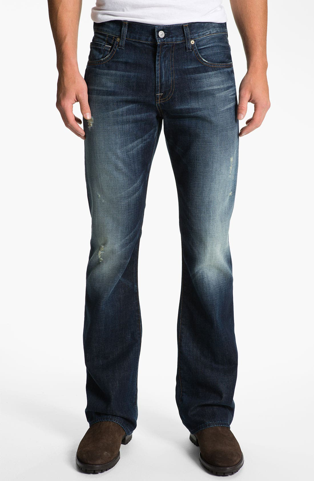 Alternate Image 2  - 7 For All Mankind® 'Brett' Bootcut Jeans (Ashby Ave)