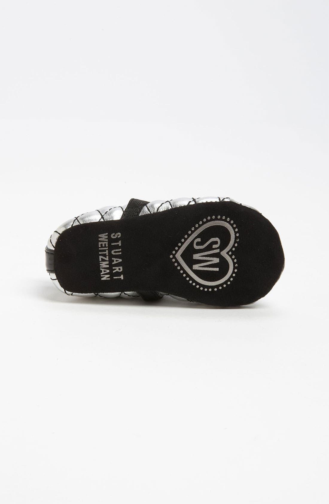 Alternate Image 4  - Stuart Weitzman 'Baby Chippy 2' Crib Shoe (Baby)