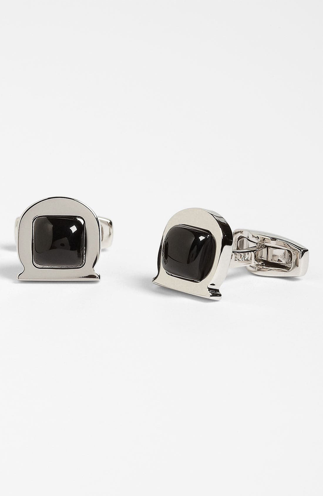 Alternate Image 1 Selected - Salvatore Ferragamo 'Gem Omer' Cuff Links
