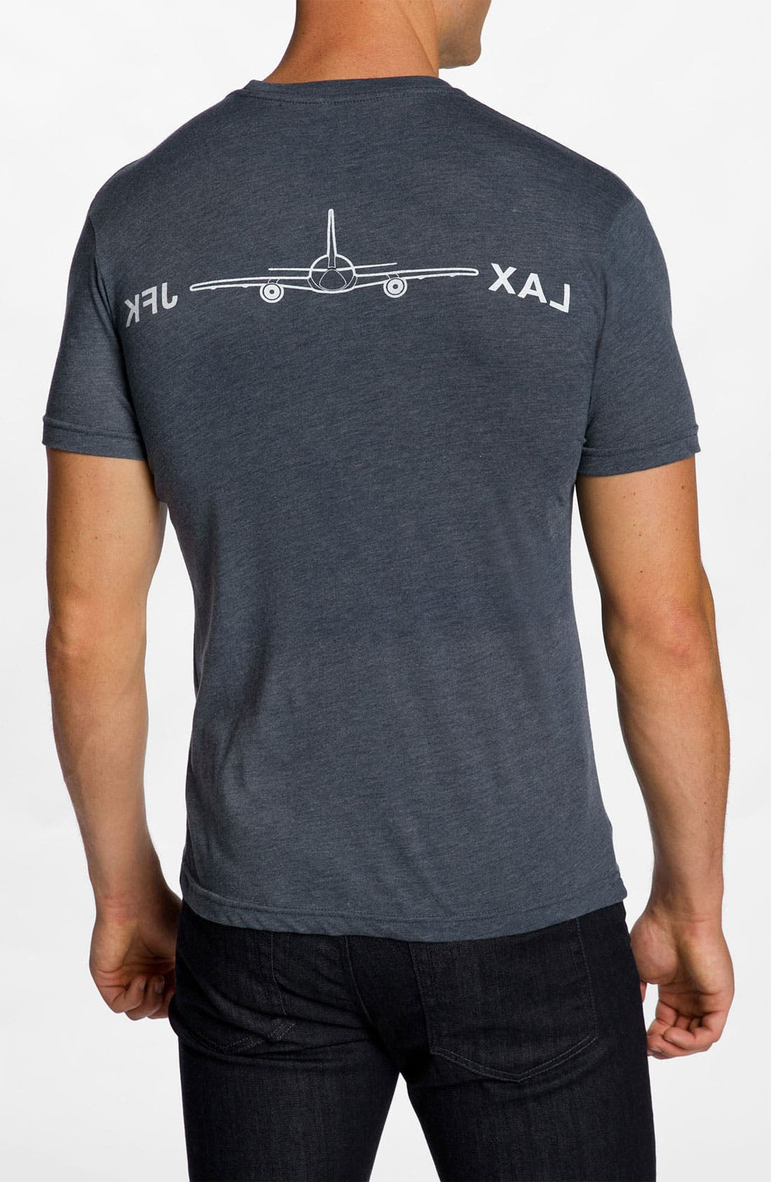 Alternate Image 2  - DiLascia 'LAX - JFK' T-Shirt
