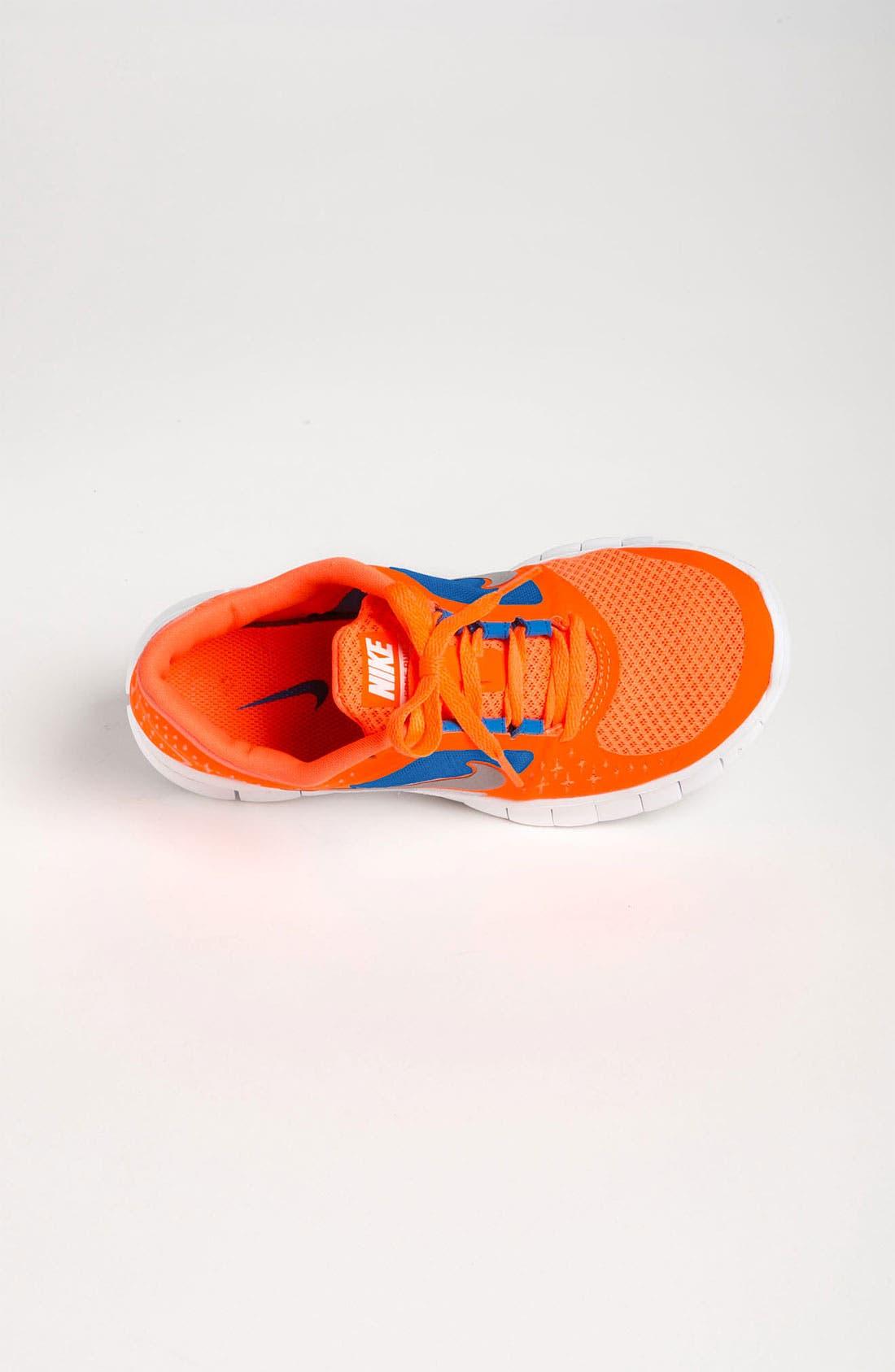 Alternate Image 3  - Nike 'Free Run 3' Running Shoe (Big Kid)