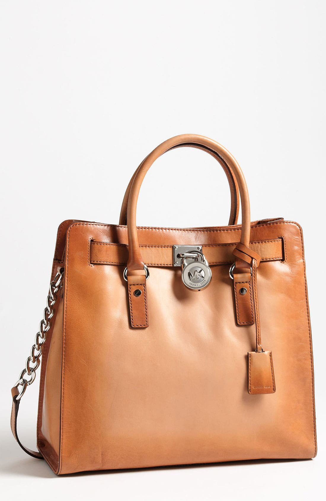 Alternate Image 1 Selected - MICHAEL Michael Kors 'Hamilton Artisan - Large' Leather Tote
