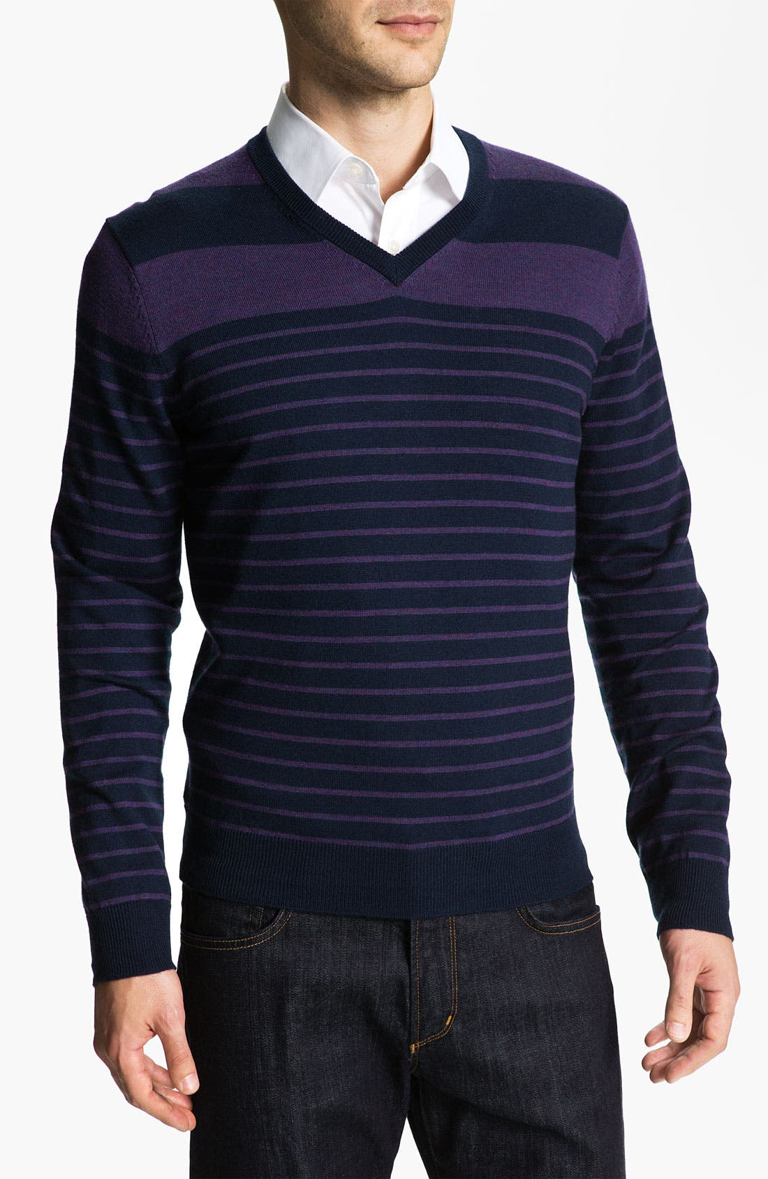Alternate Image 1 Selected - Cullen89 Merino Wool V-Neck Sweater