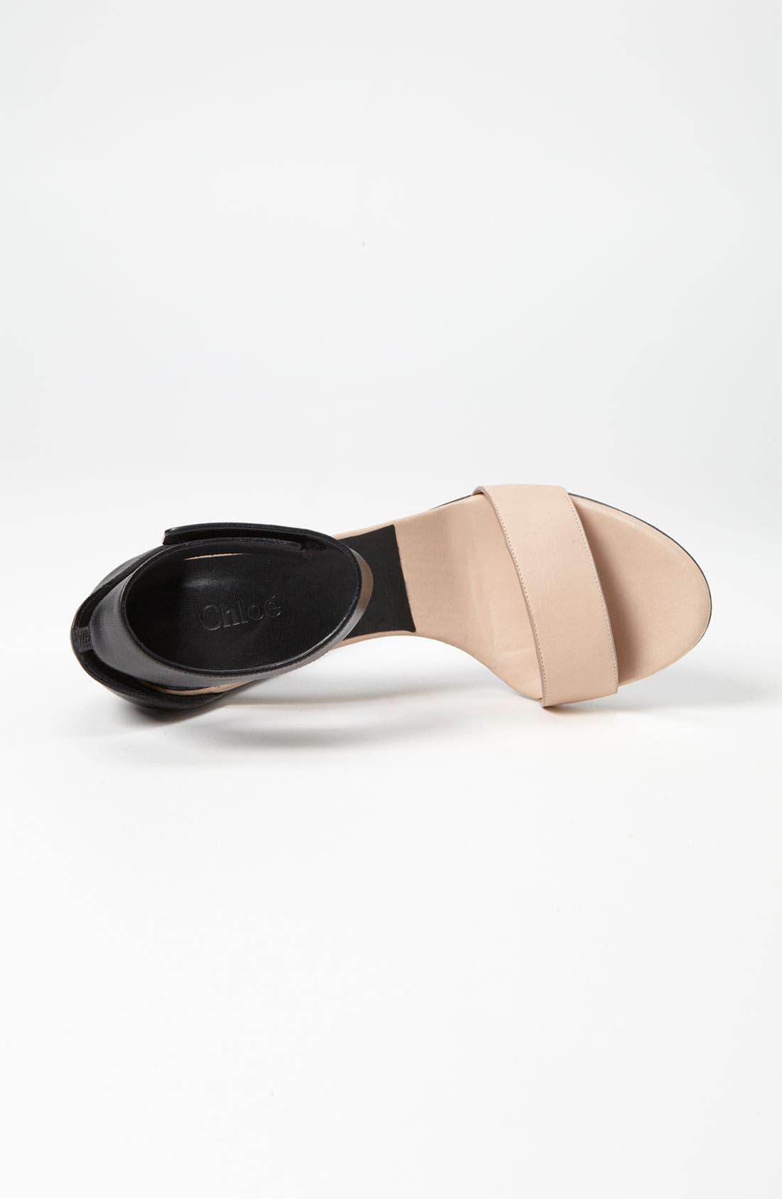 Alternate Image 3  - Chloé Ankle Strap Sandal
