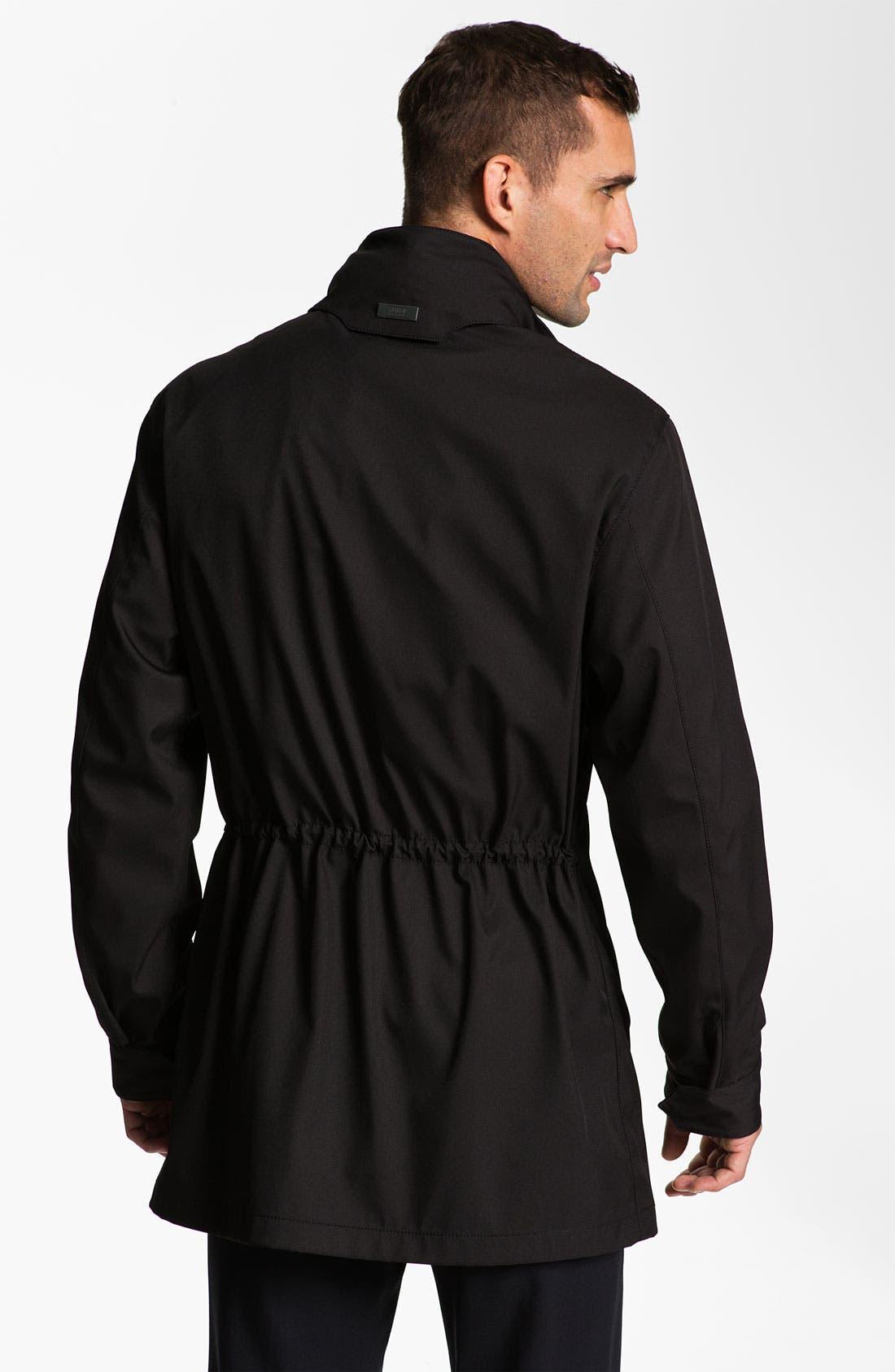 Alternate Image 2  - Armani Collezioni 'Matrix' Top Coat