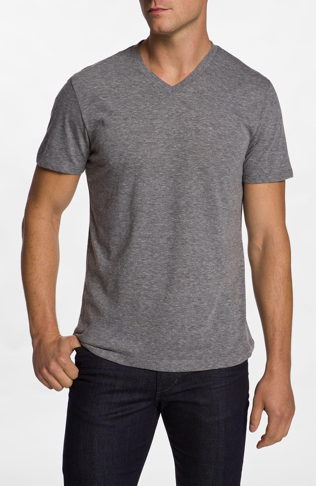 Alternate Image 1 Selected - The Rail Trim Fit V-Neck T-Shirt