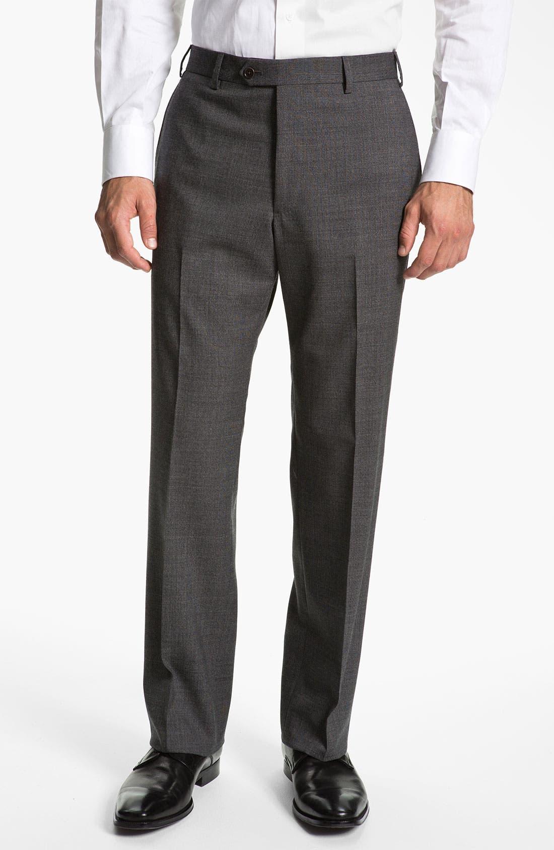 Alternate Image 4  - Armani Collezioni 'Giorgio' Trim Fit Suit