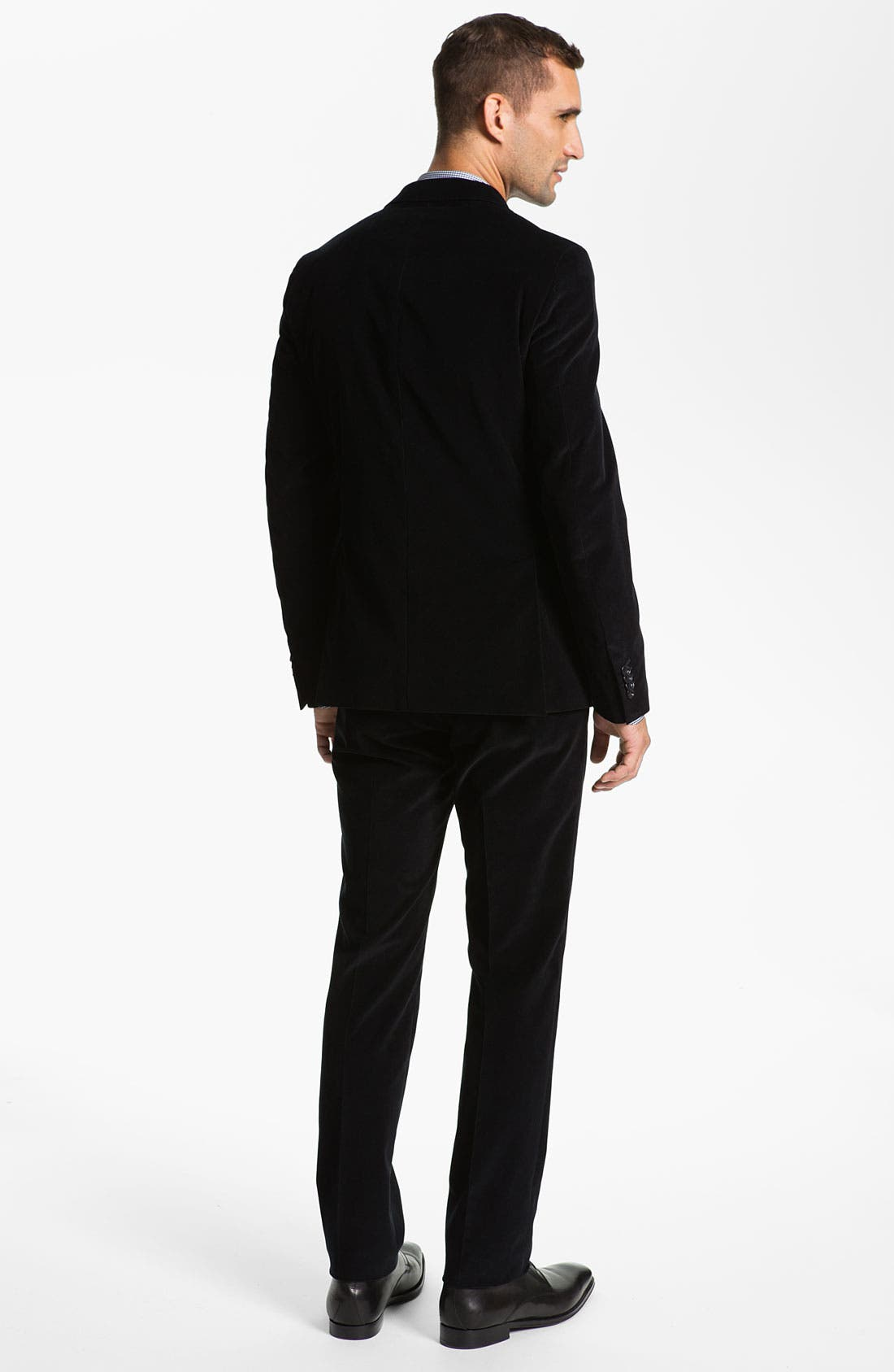 Alternate Image 3  - Z Zegna Extra Trim Fit Corduroy Suit