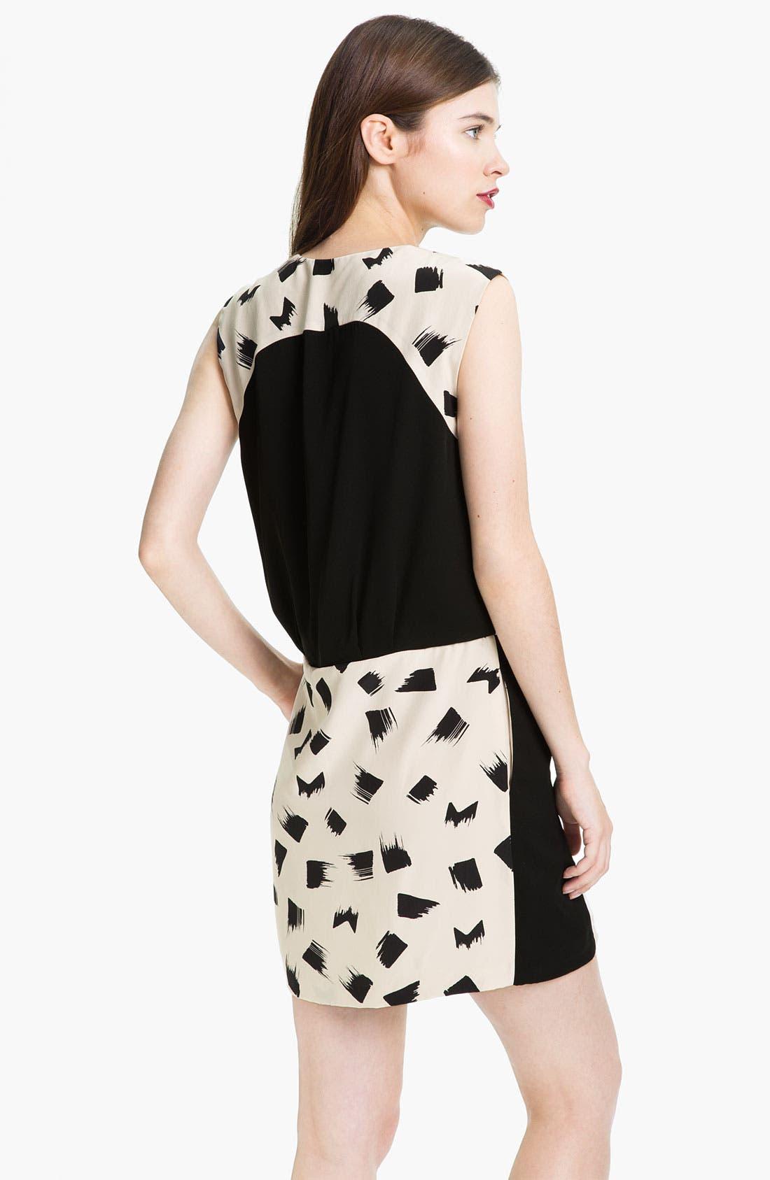 Alternate Image 2  - Diane von Furstenberg 'Jaime' Silk Faux Wrap Dress