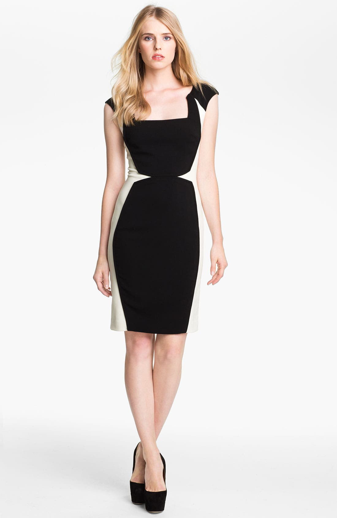 Main Image - Jay Godfrey 'Kornell' Colorblock Dress