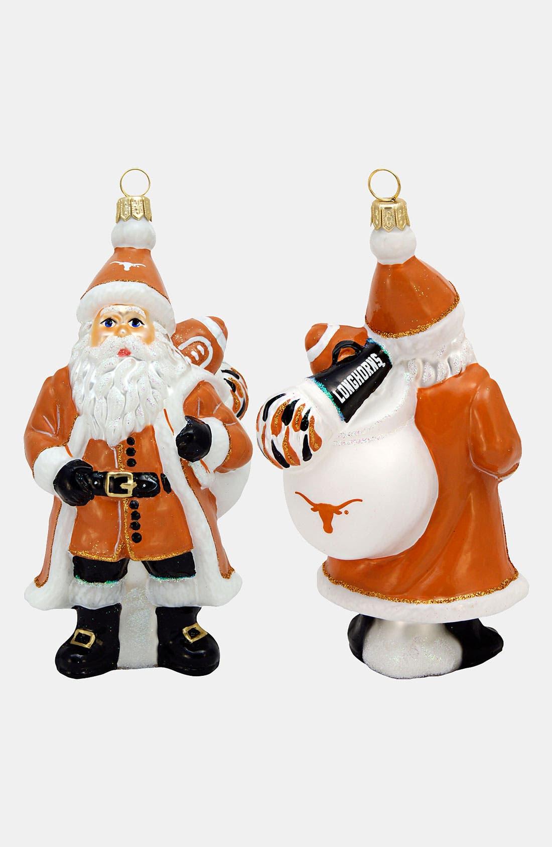 Main Image - Joy to the World Collectibles 'Texas Longhorns Santa' Ornament