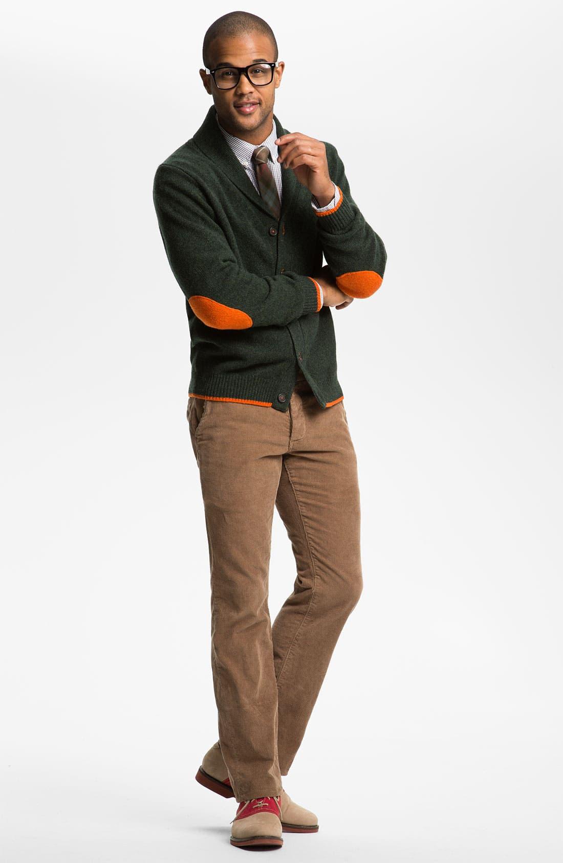 Alternate Image 4  - Grown & Sewn 'Legend' Corduroy Pants