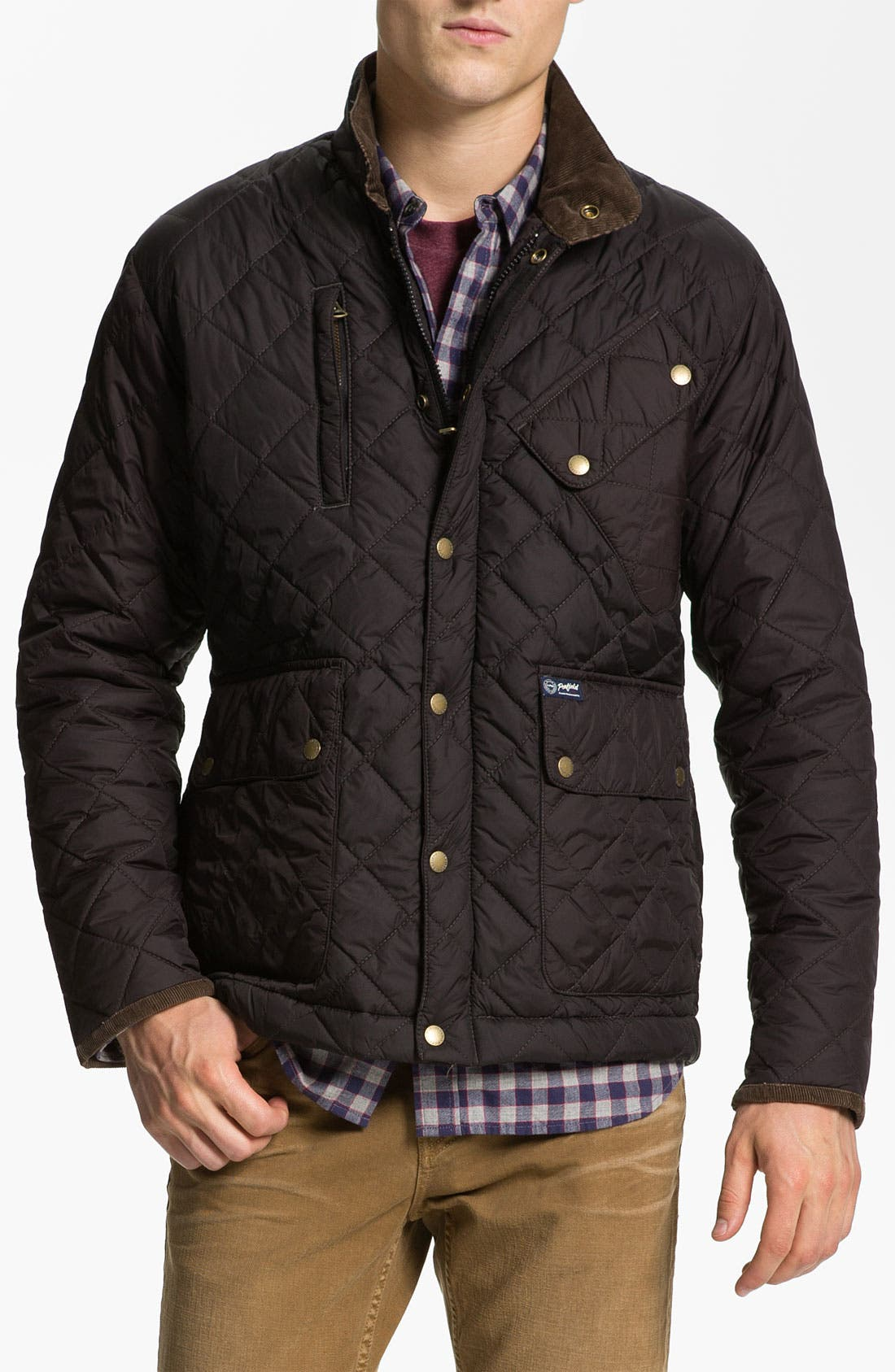 Alternate Image 1 Selected - Penfield 'Colwood' Quilted Trail Jacket