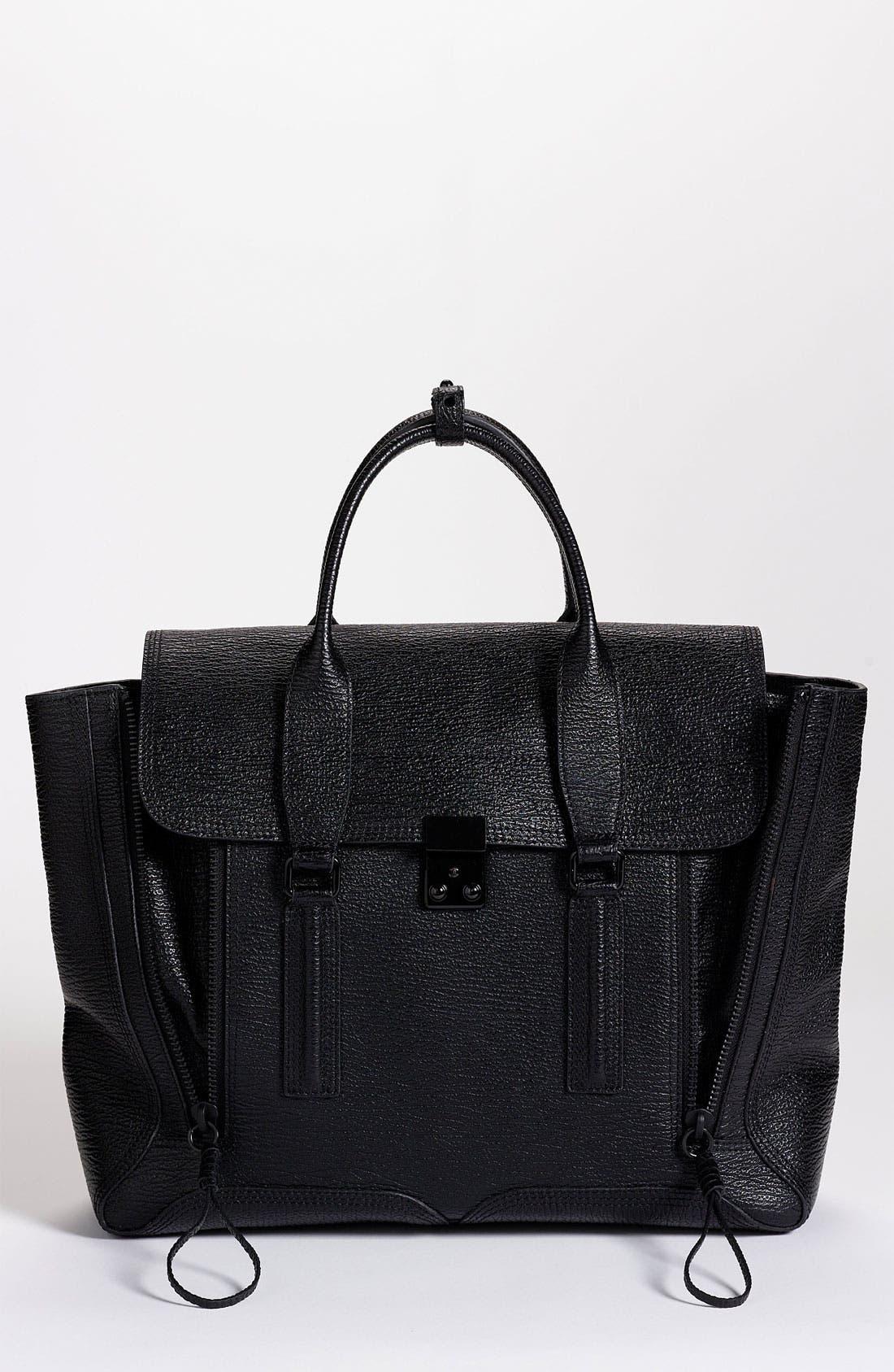 Alternate Image 1 Selected - 3.1 Phillip Lim 'Pashli' Leather Satchel
