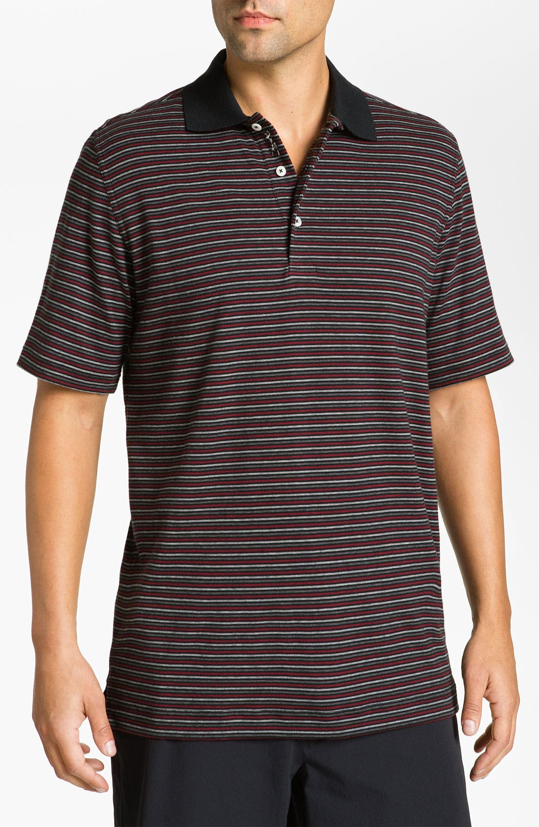 Alternate Image 1 Selected - Bobby Jones Stripe Polo