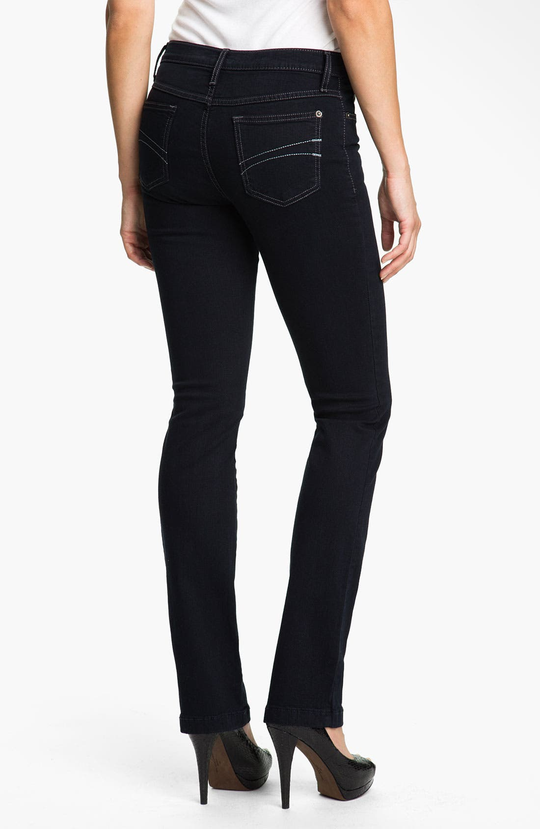 Alternate Image 2  - Yoga Jeans by Second Denim Straight Leg Jeans