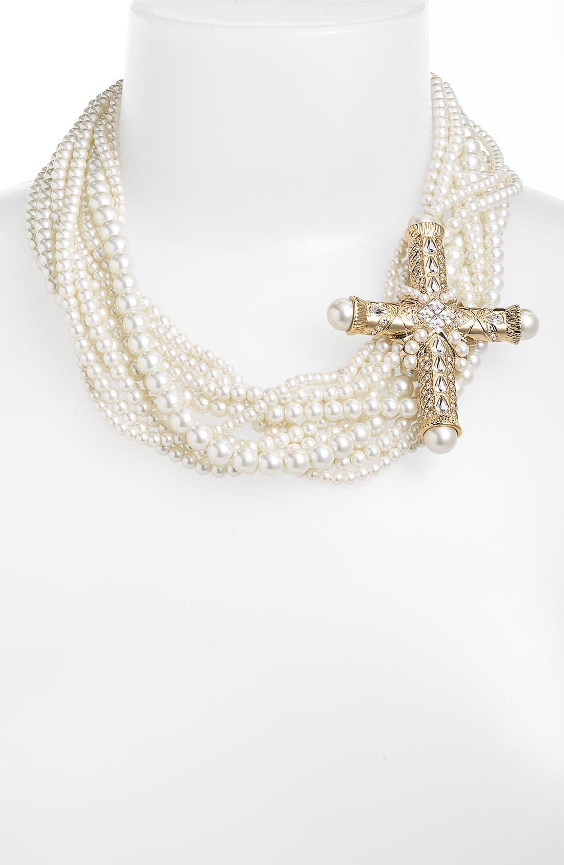 Alternate Image 2  - Givenchy Cross Brooch
