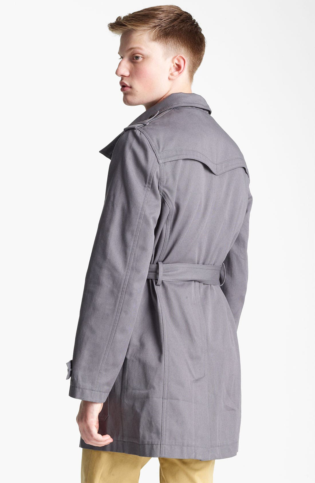 Alternate Image 2  - Topman 'Kennington' Full Length Jacket