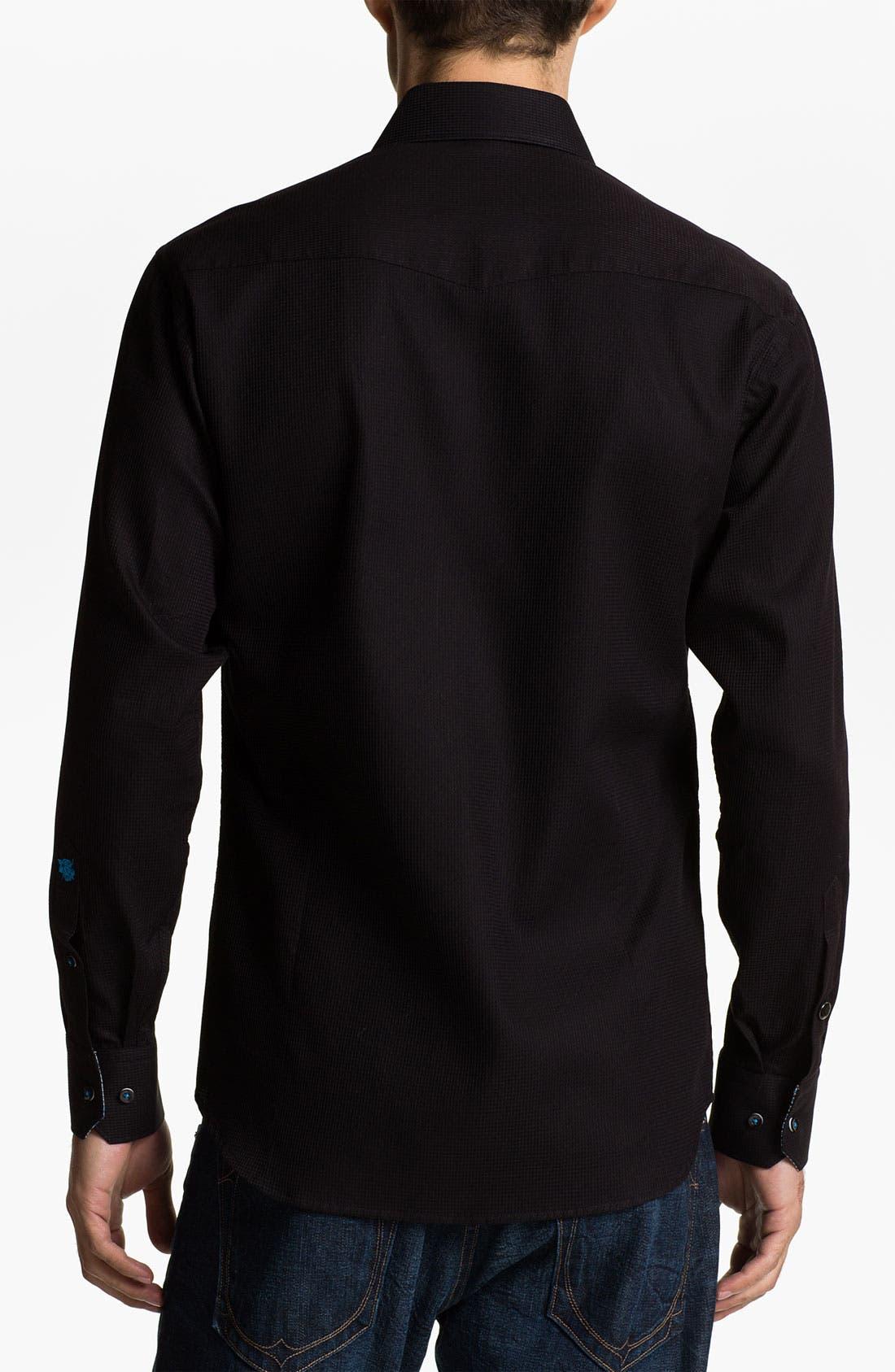 Alternate Image 2  - Stone Rose 'Black Rivet' Woven Shirt