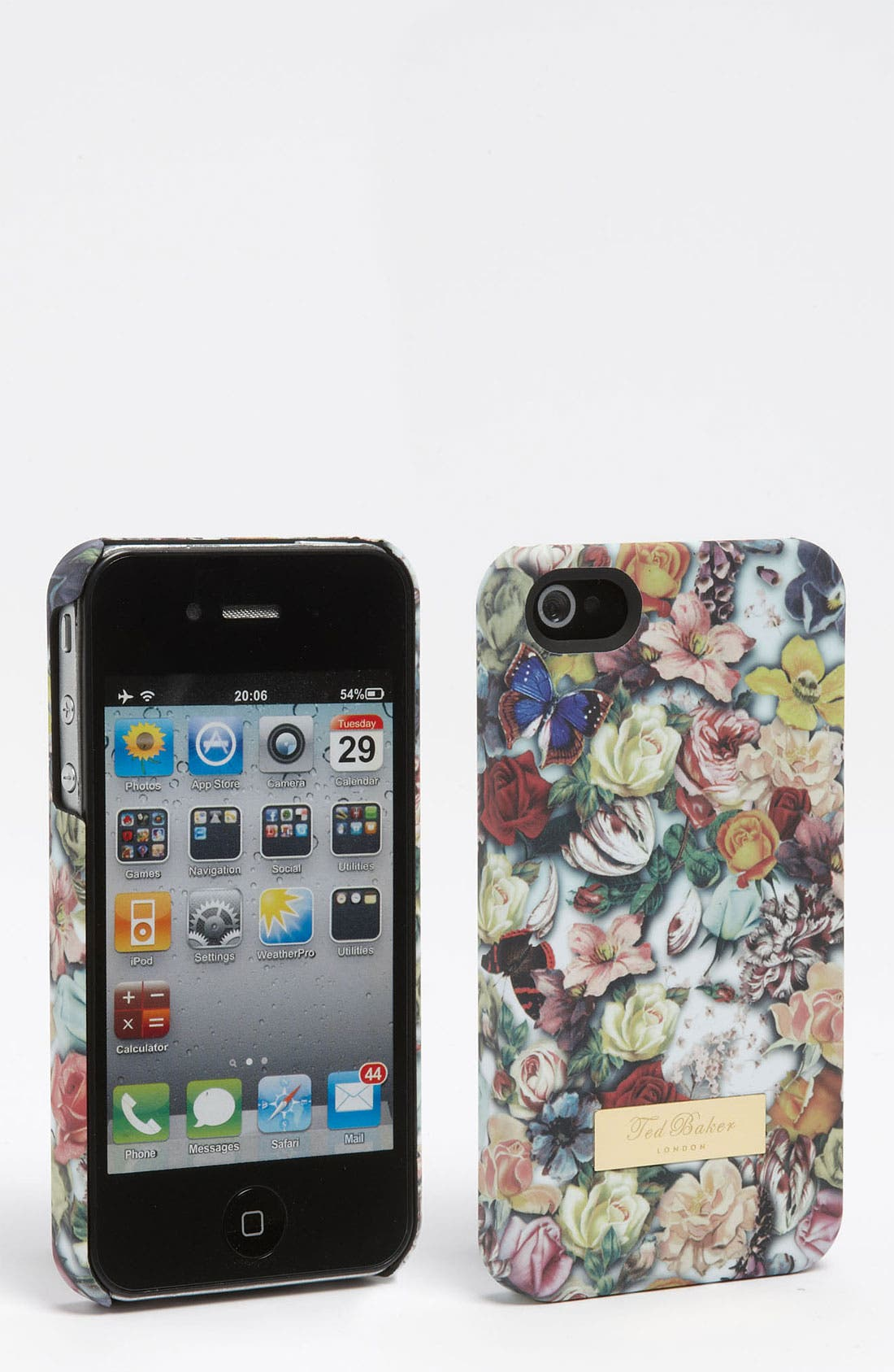 Main Image - Ted Baker London 'Decoupage' Print iPhone 4 & 4S Case