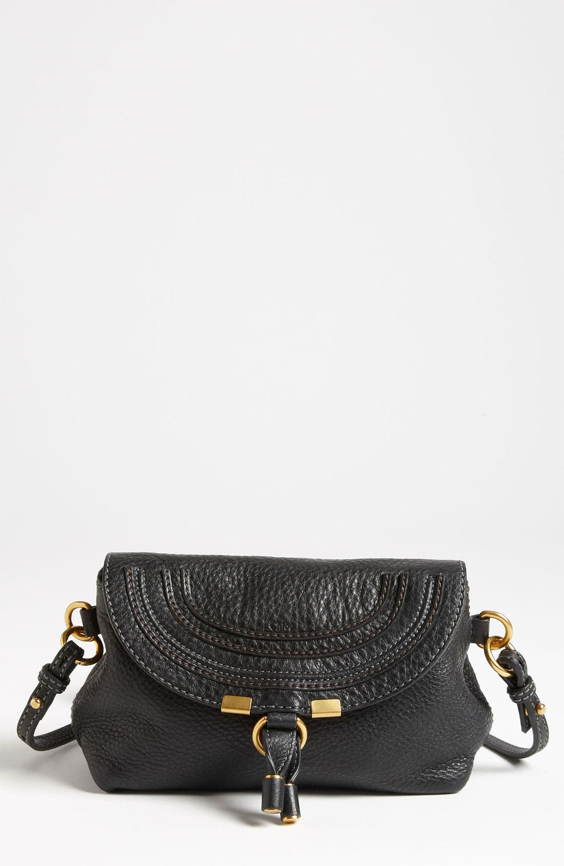 Alternate Image 1 Selected - Chloé 'Marcie' Calfskin Leather Crossbody Bag