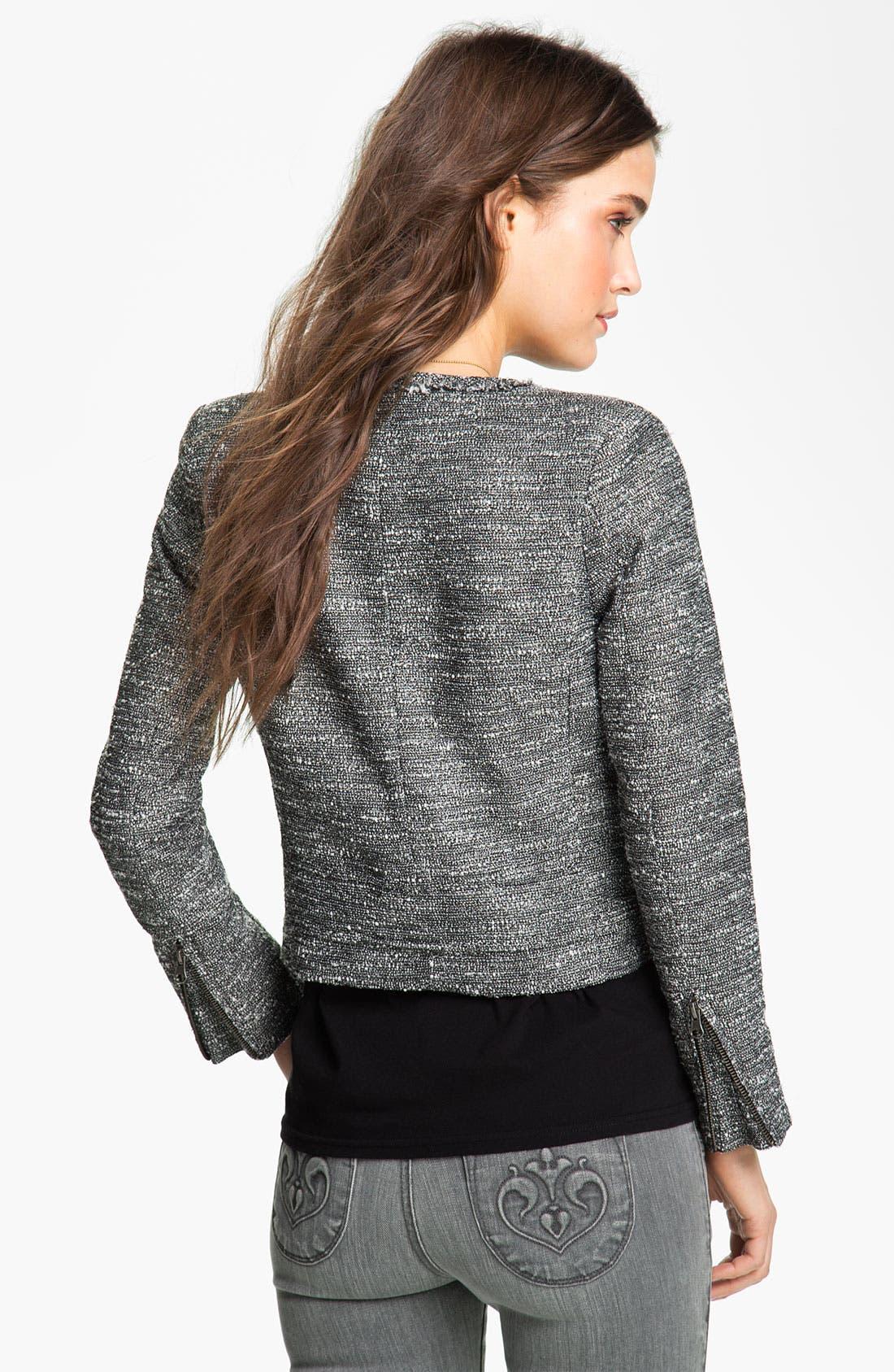 Alternate Image 2  - Maison Scotch Tweed Blazer